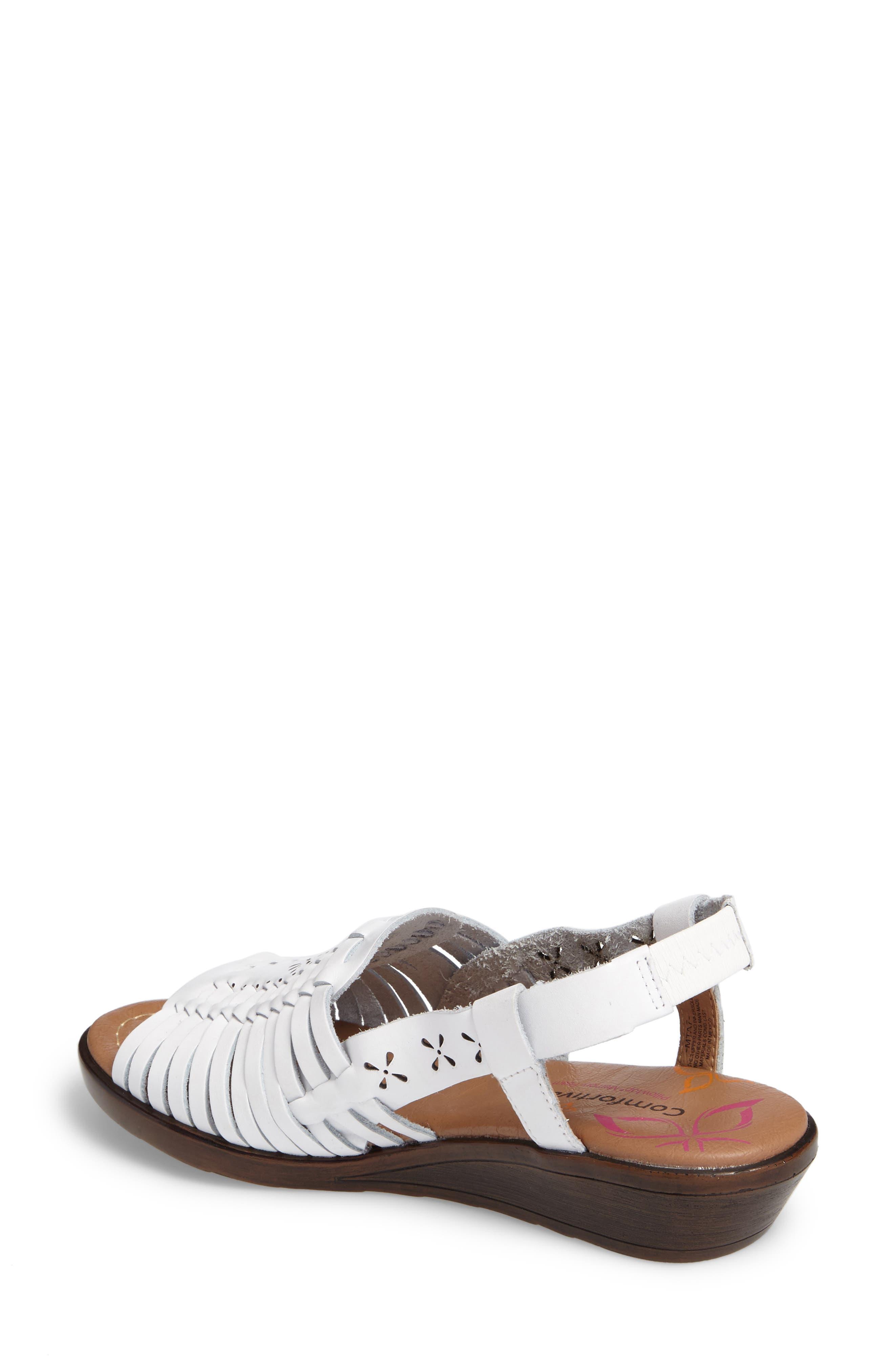Formasa Huarache Slingback Sandal,                             Alternate thumbnail 2, color,                             100