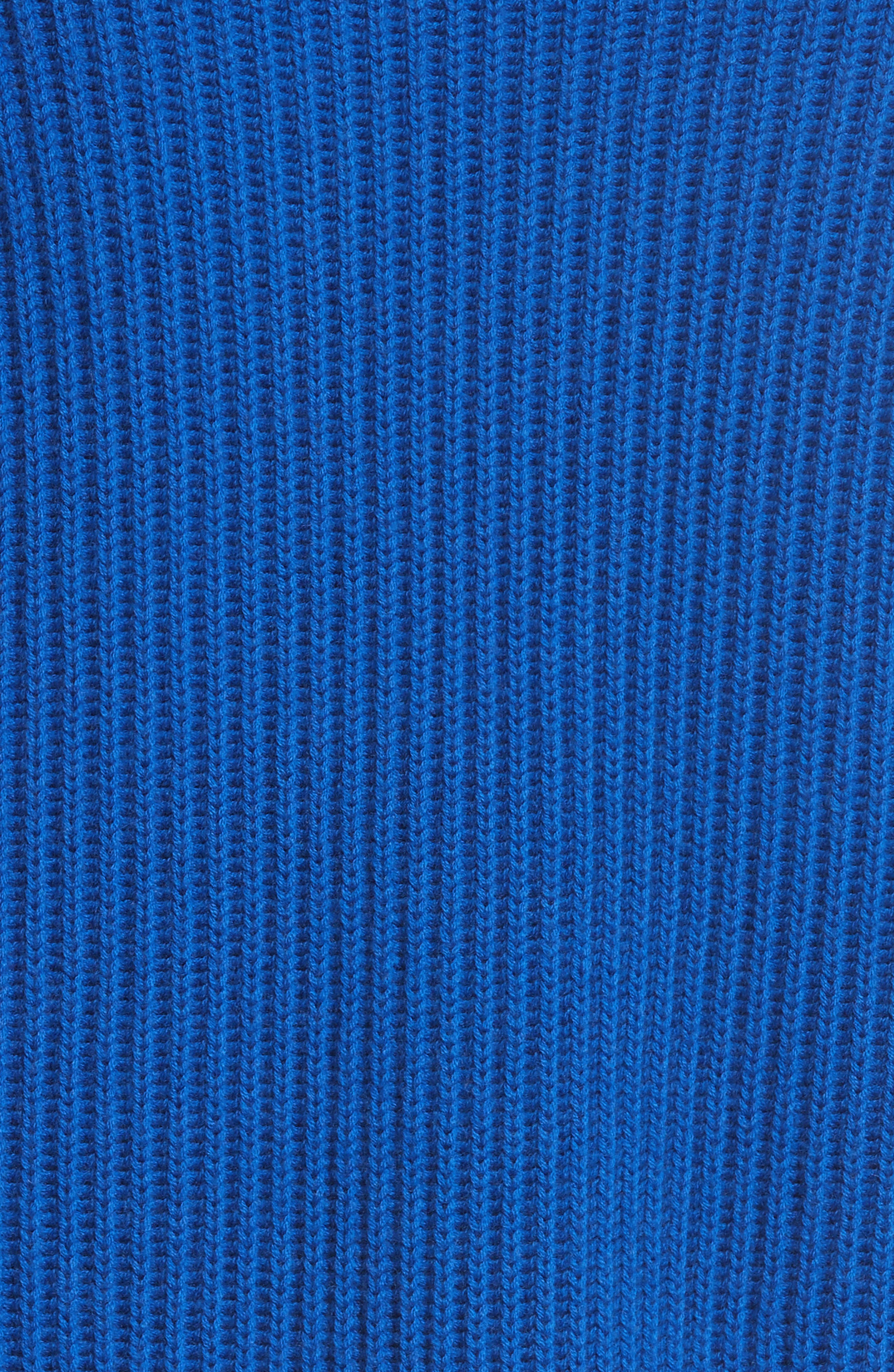 Val Stripe Sleeve Sweater,                             Alternate thumbnail 5, color,                             418