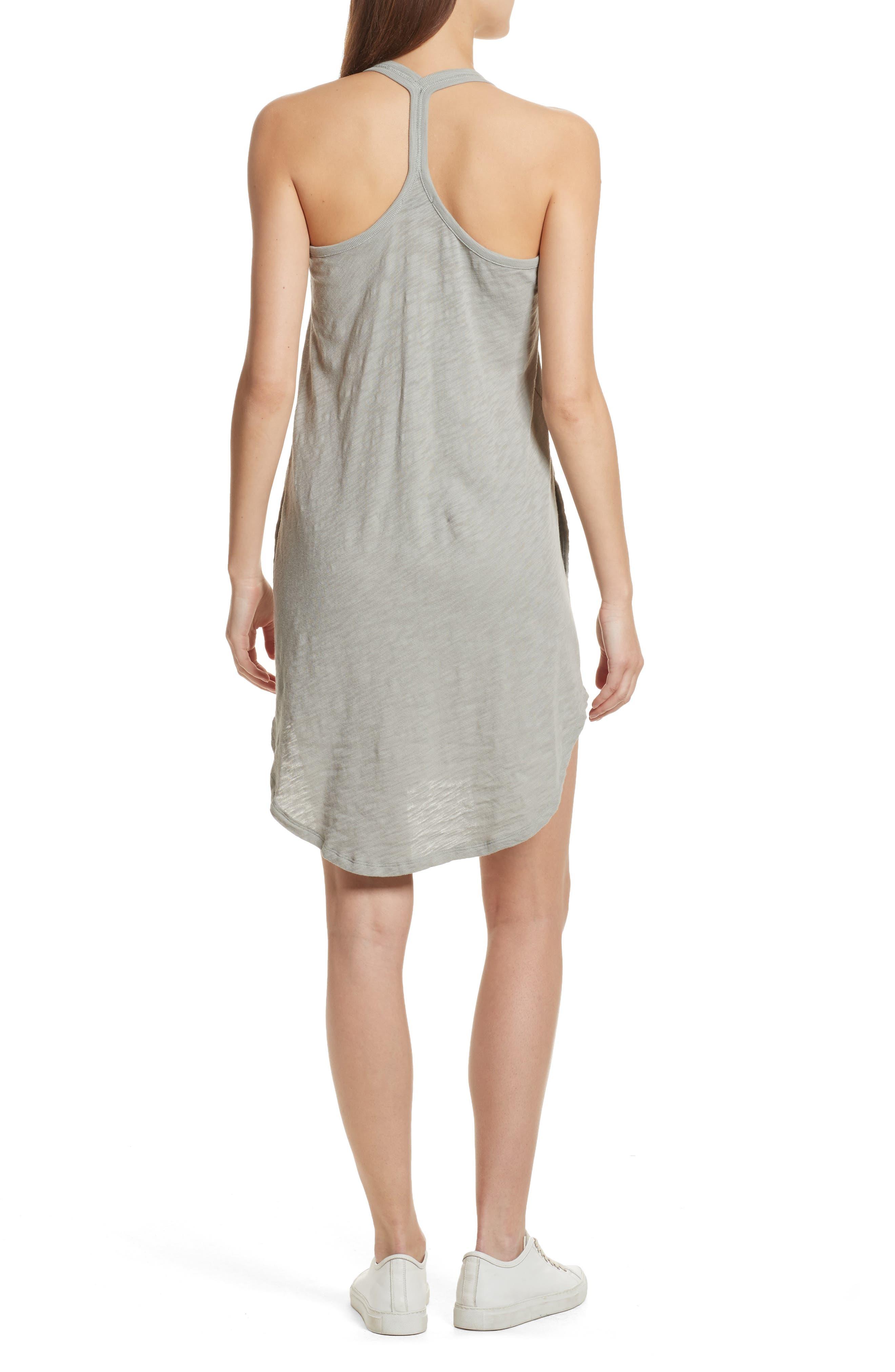 Cotton Trapeze Tank Dress,                             Alternate thumbnail 5, color,