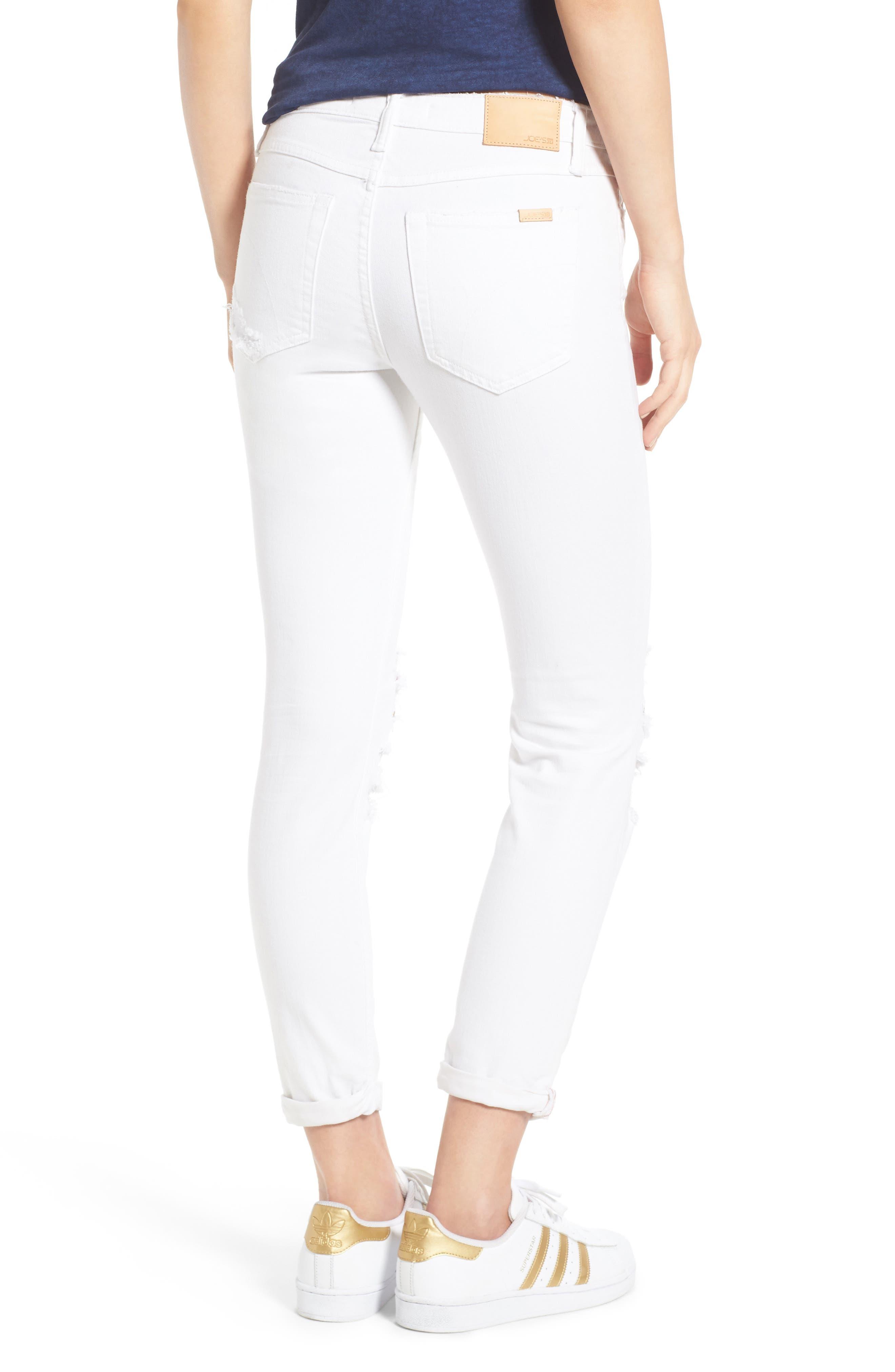 Andie Crop Skinny Jeans,                             Alternate thumbnail 2, color,                             100