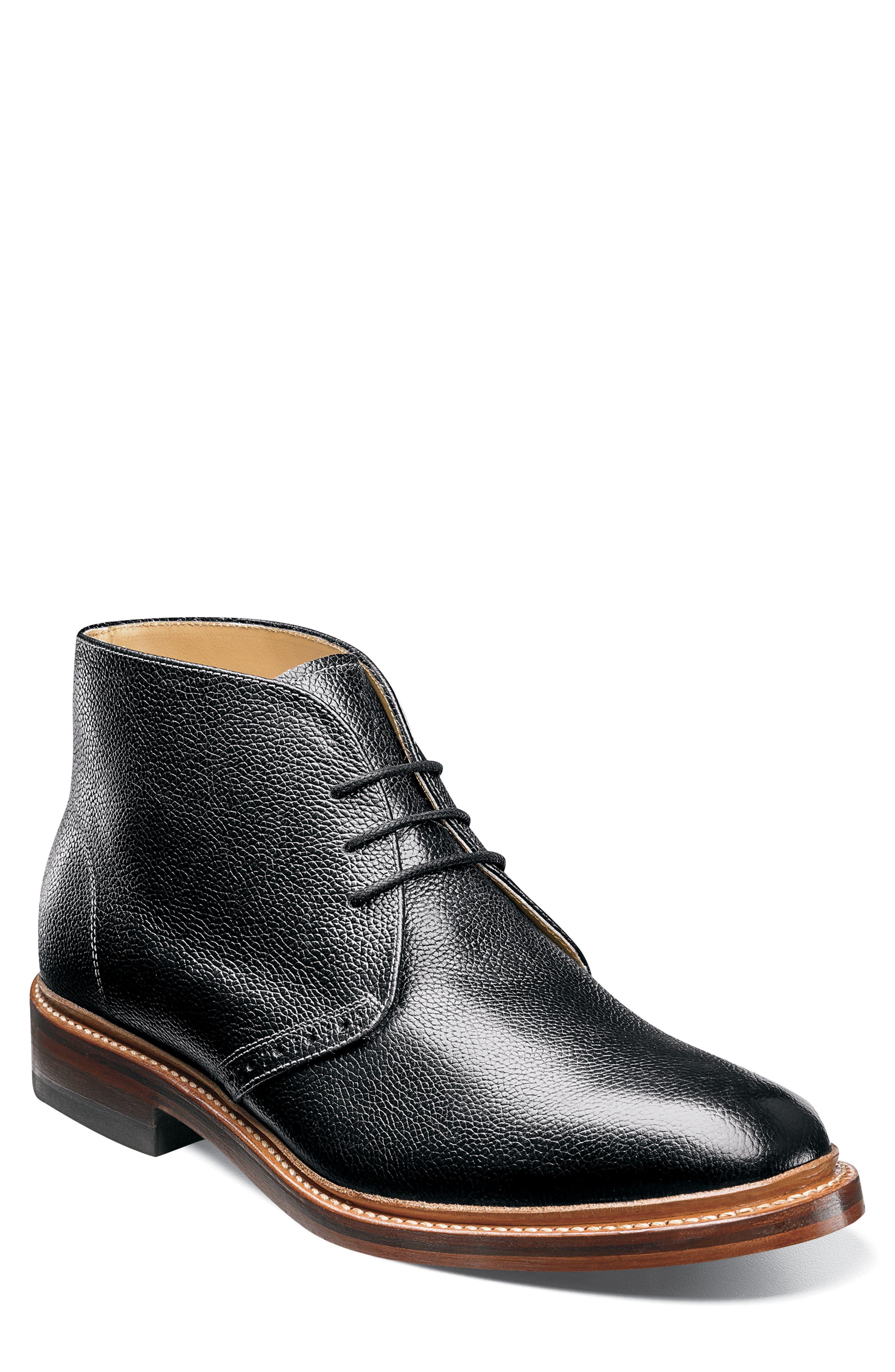 'Madison II' Chukka Boot,                             Alternate thumbnail 3, color,                             001