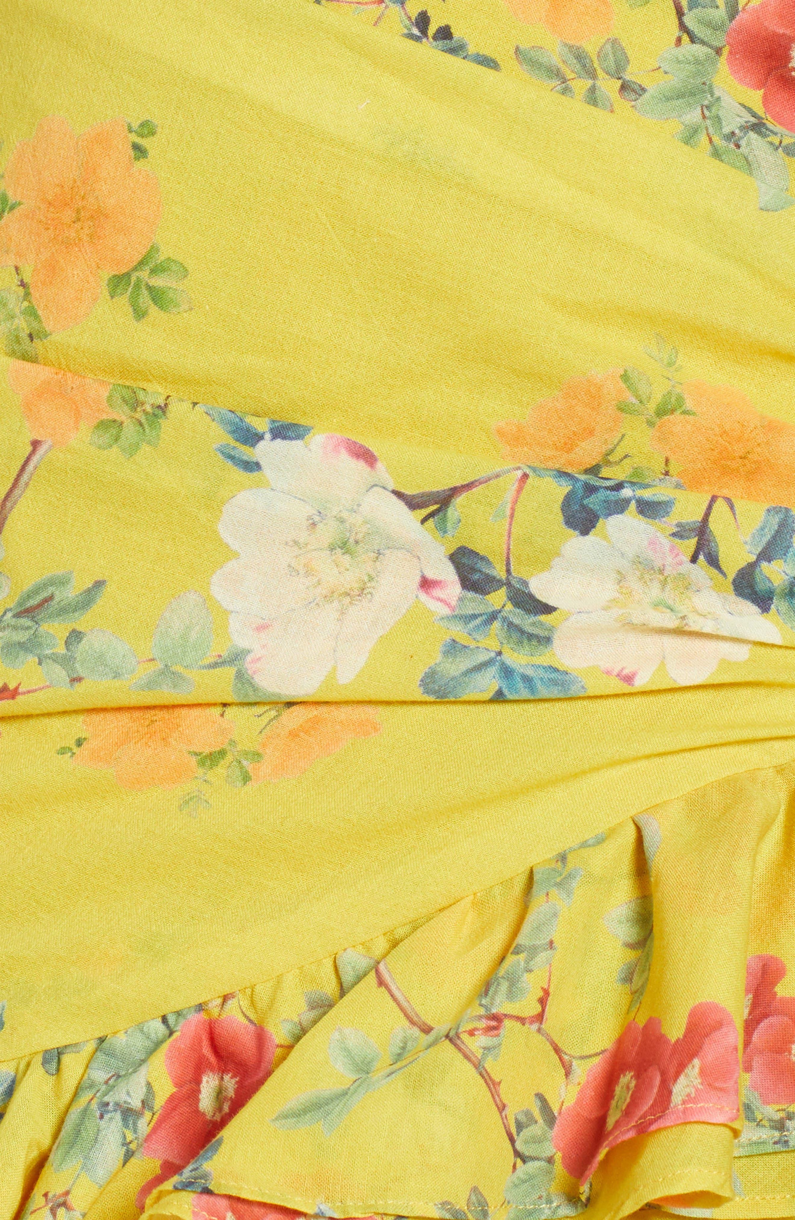 Casey Strapless Minidress,                             Alternate thumbnail 6, color,