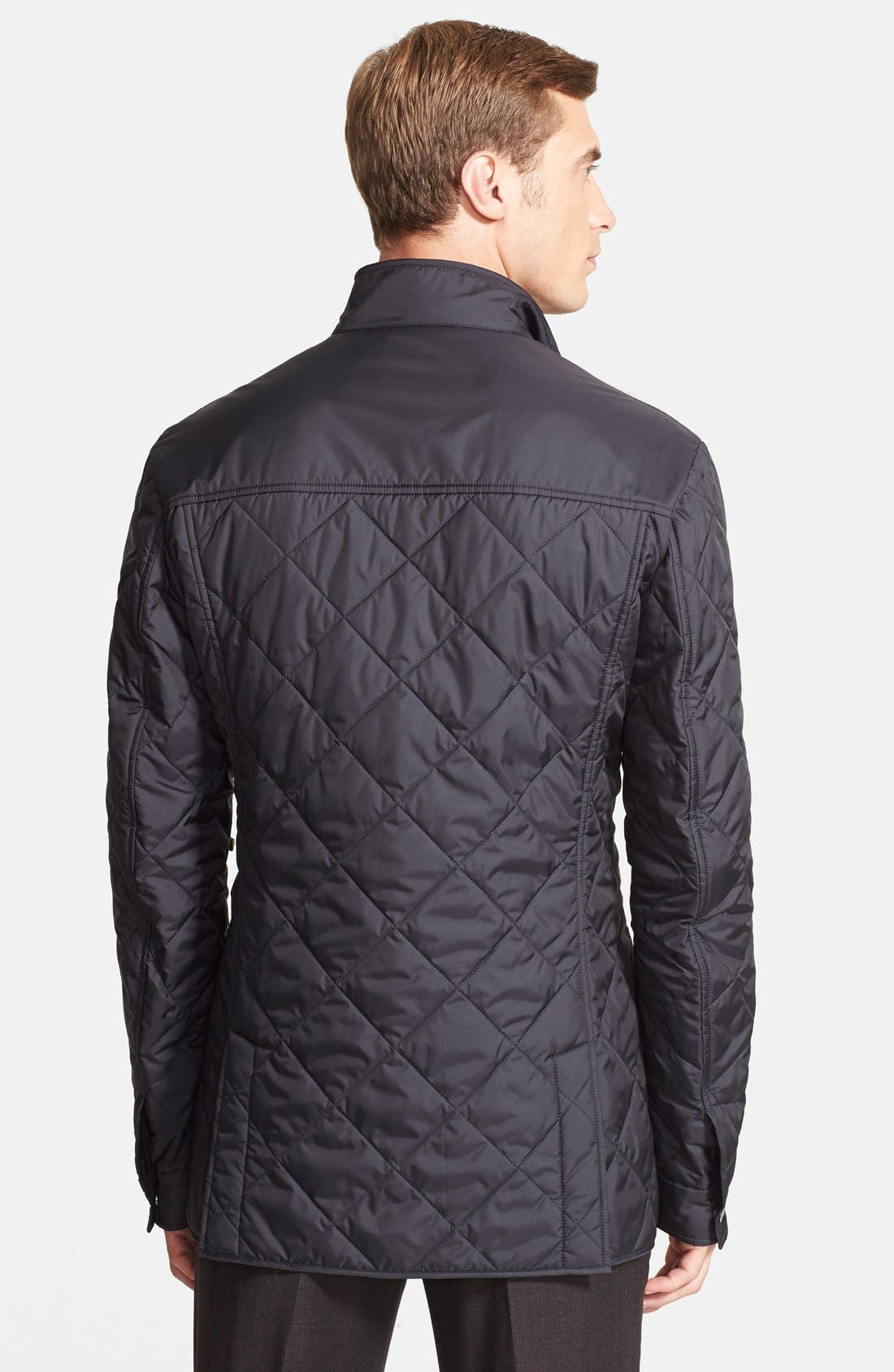 Regular Fit Quilted Jacket,                             Alternate thumbnail 2, color,                             411