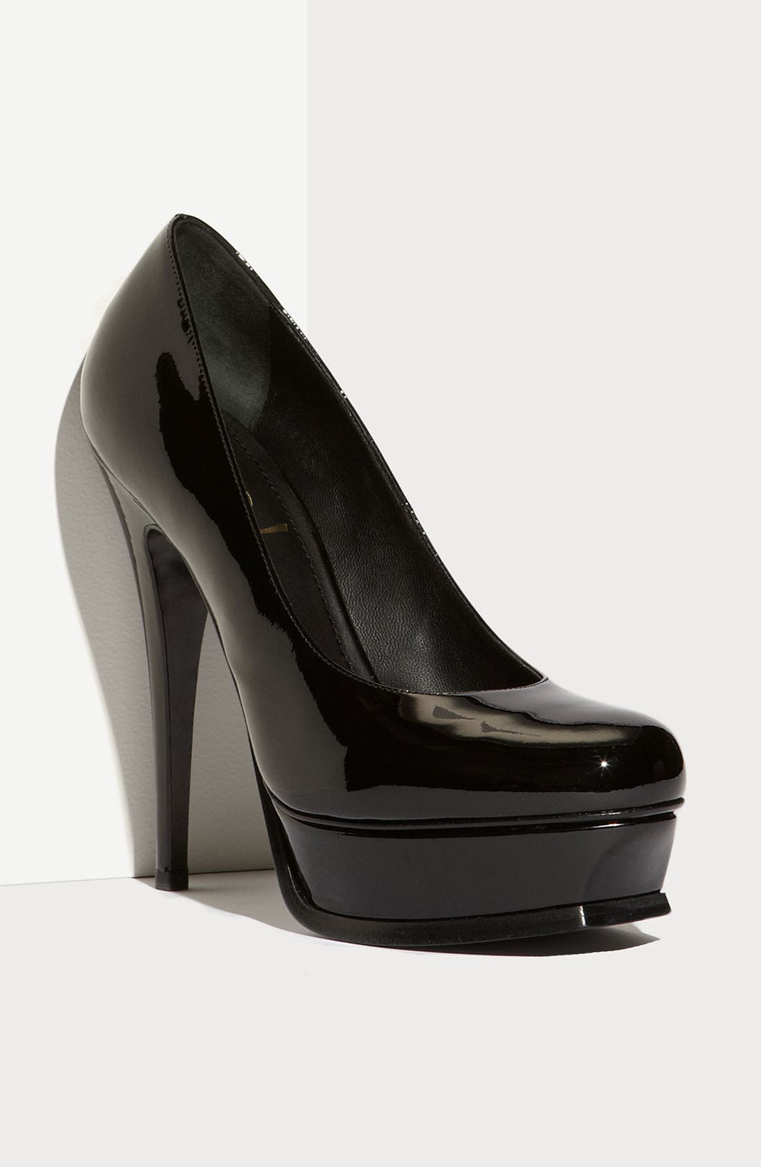 SAINT LAURENT,                             Yves Saint Laurent 'Tribute' Pump,                             Main thumbnail 1, color,                             001