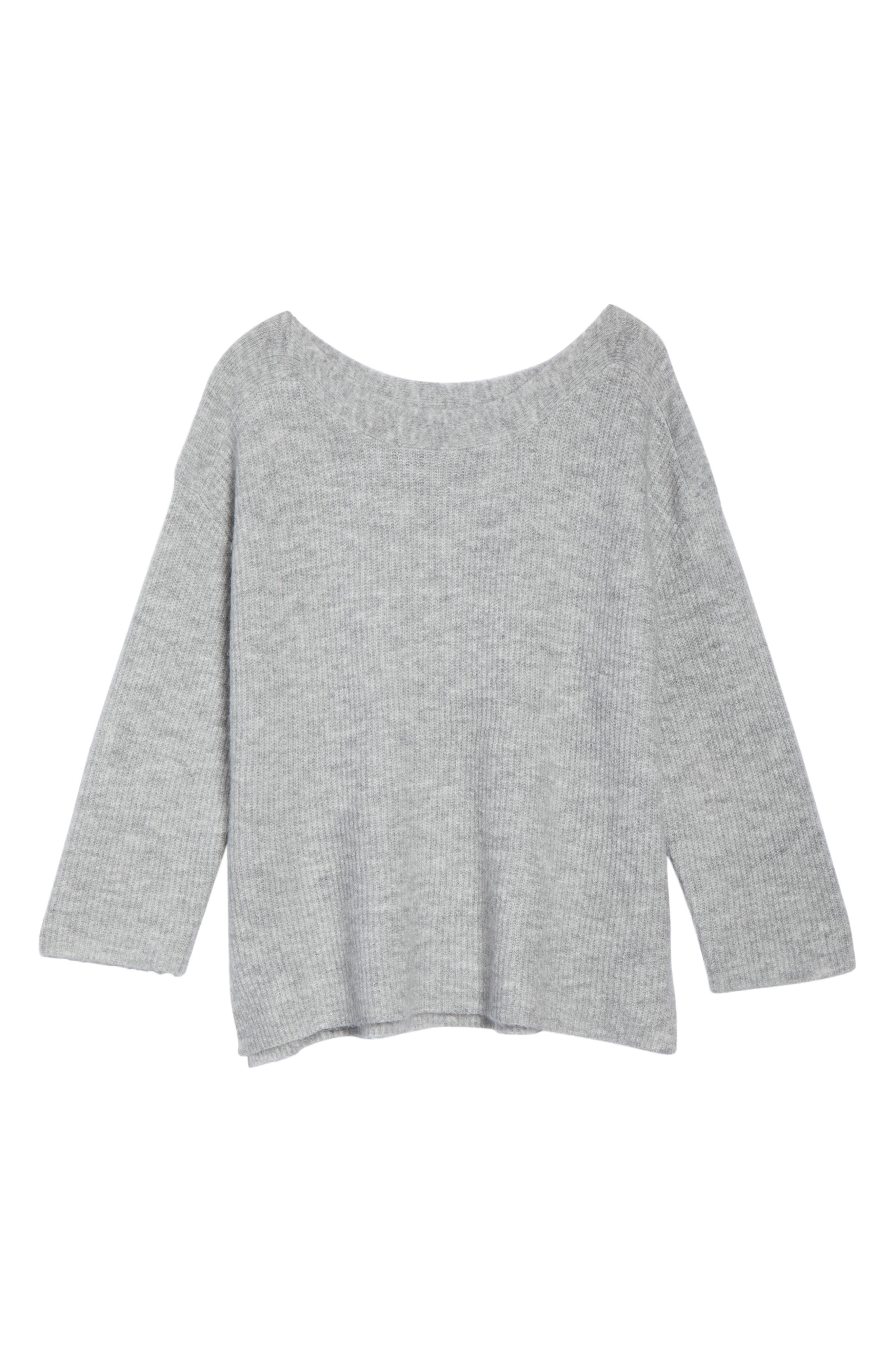 Cozy Femme Pullover Sweater,                             Alternate thumbnail 6, color,                             031