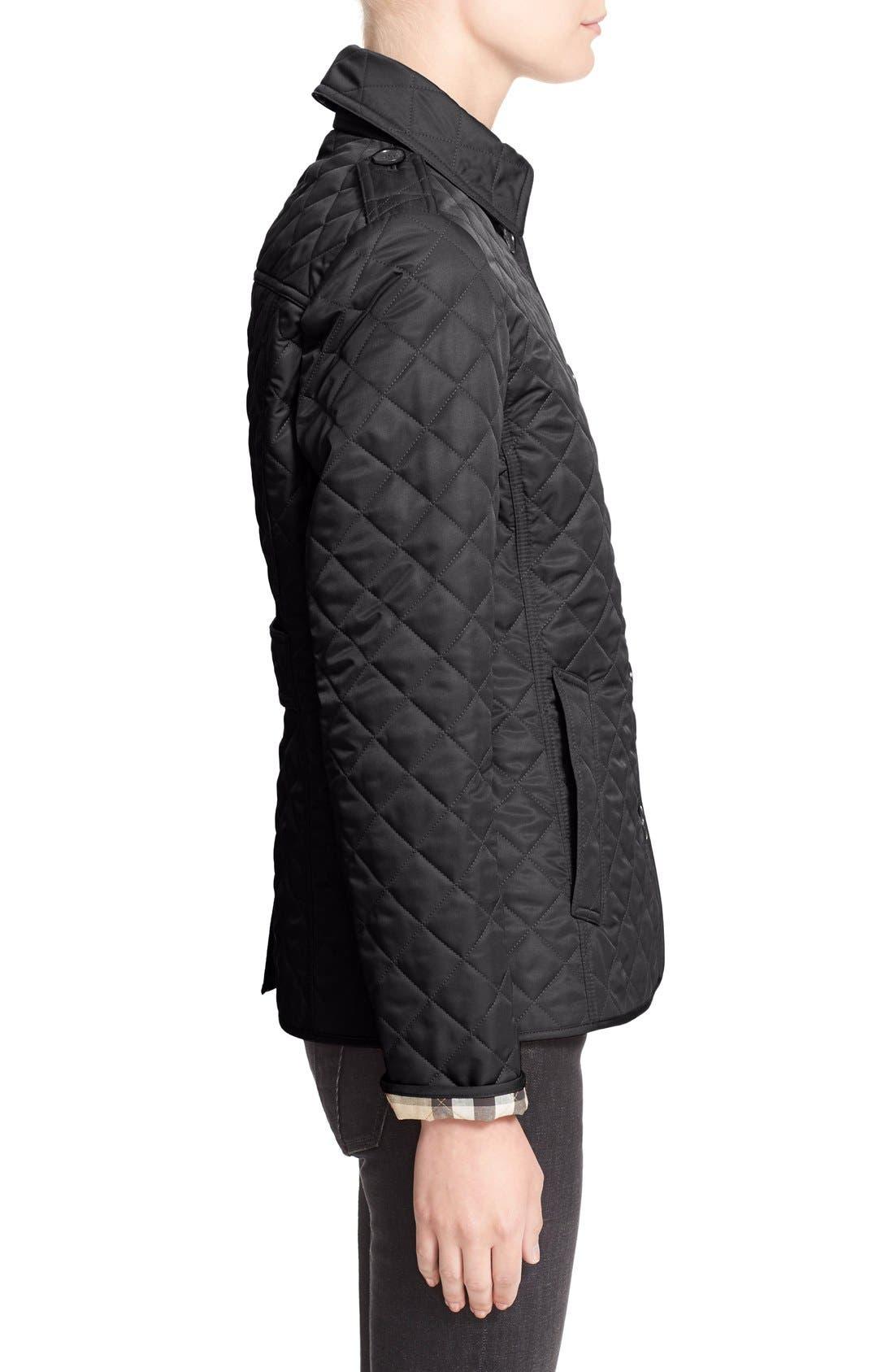 Ashurst Quilted Jacket,                             Alternate thumbnail 11, color,                             BLACK