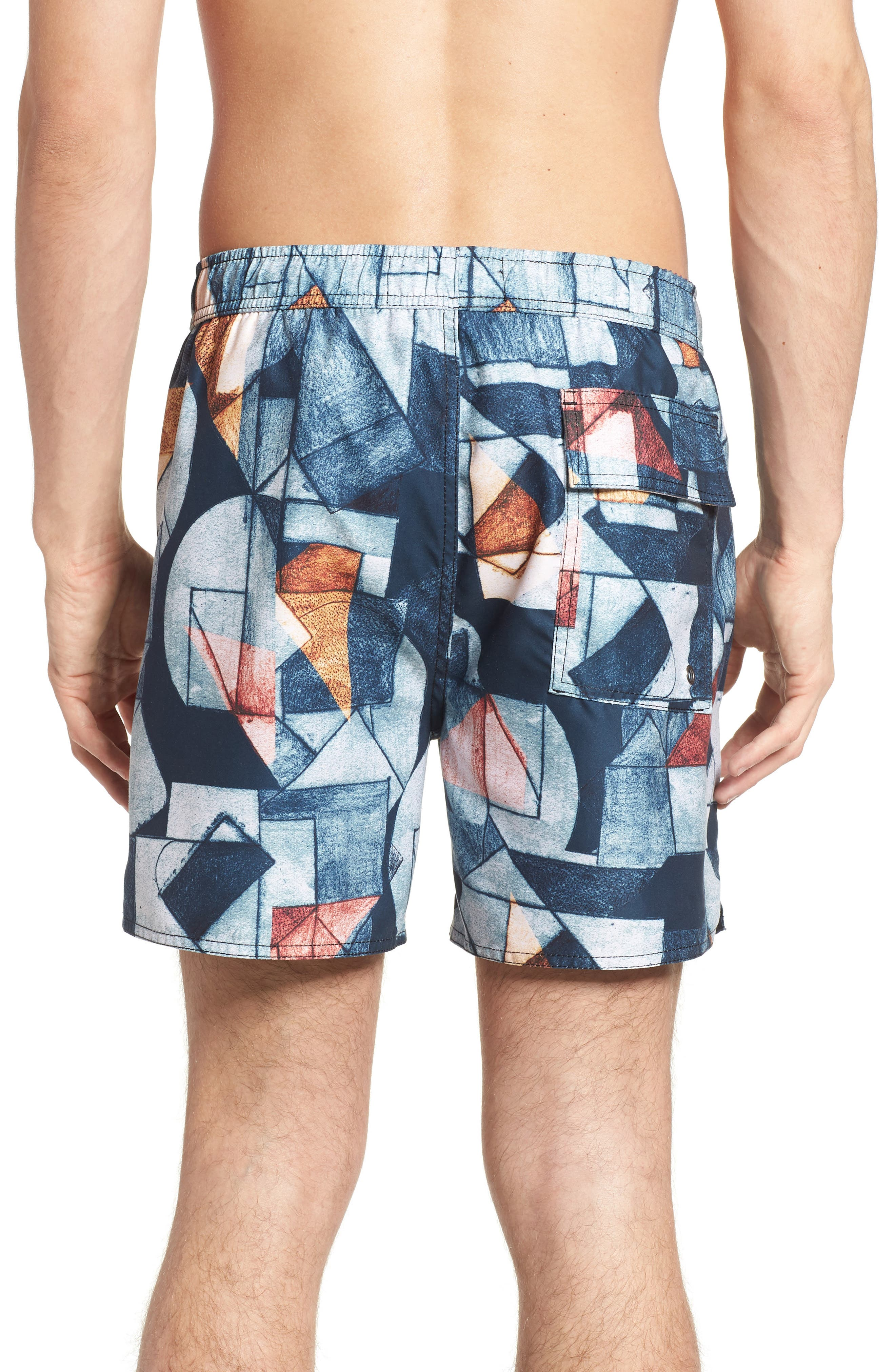 NATIVE YOUTH,                             Olio Etch Swim Trunks,                             Alternate thumbnail 2, color,                             400