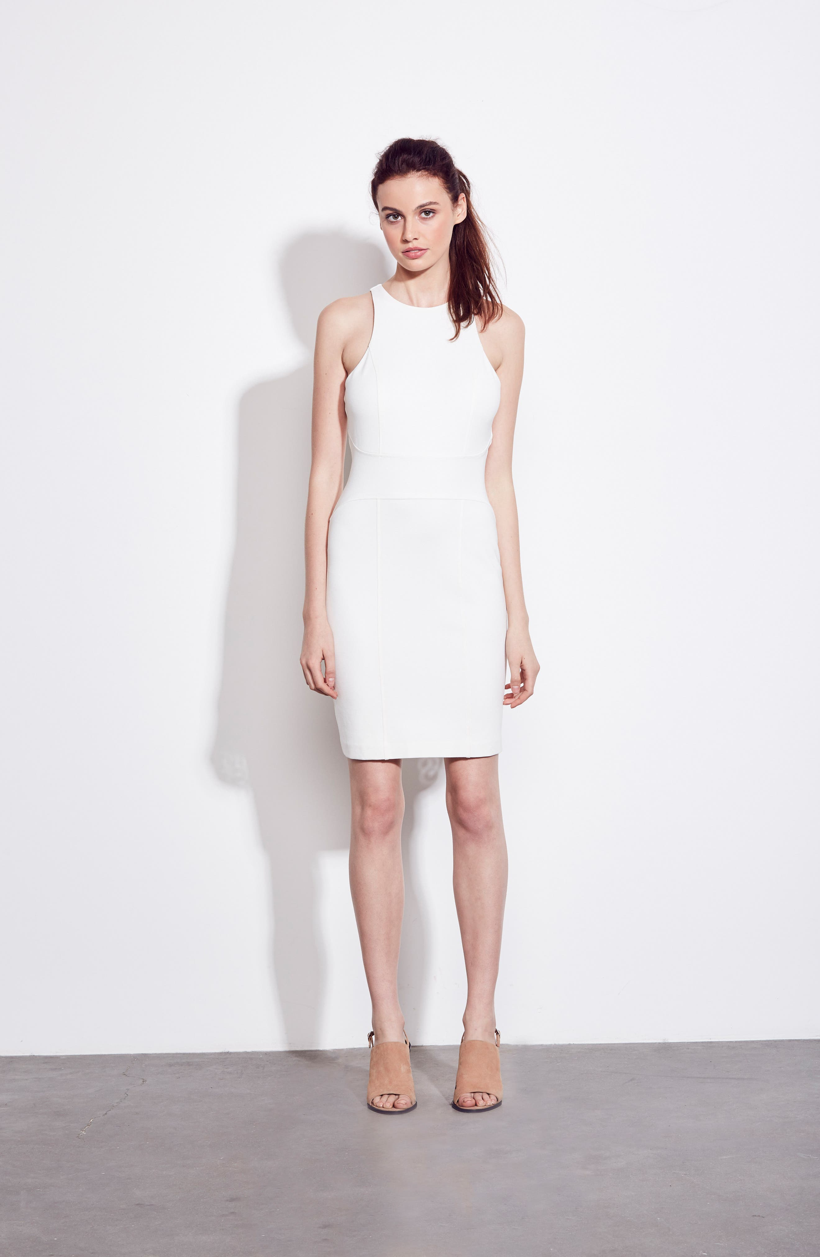 You Ruin Me Body-Con Dress,                             Alternate thumbnail 9, color,                             WHITE