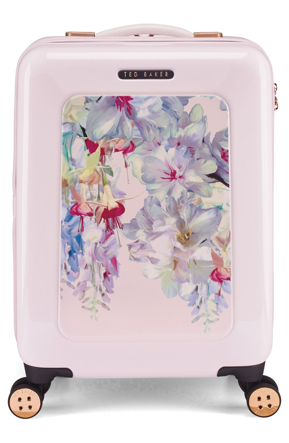 Small Hanging Gardens Four Wheel Suitcase,                             Alternate thumbnail 4, color,                             650