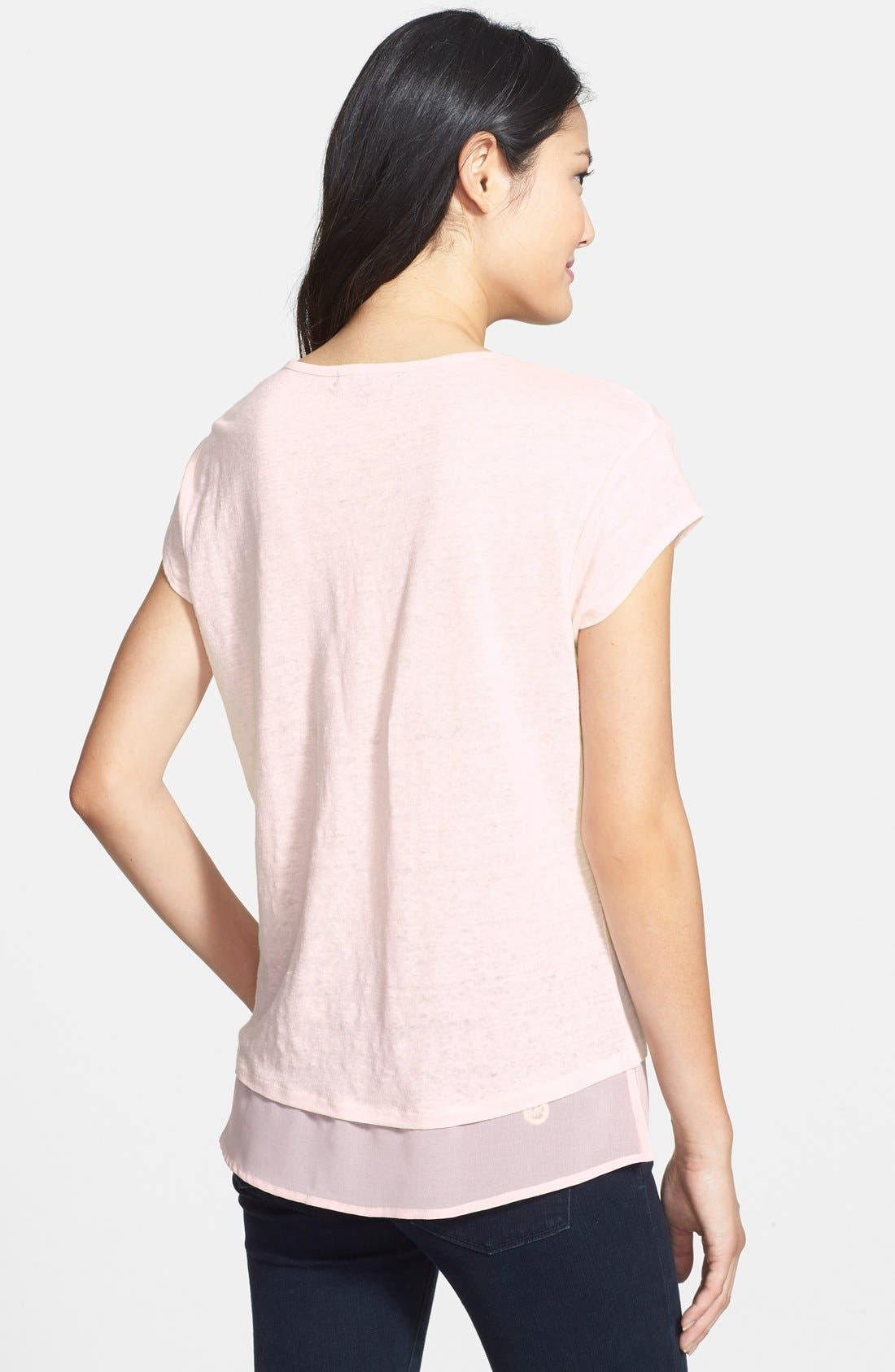 City Mix Layered Look Tee,                             Alternate thumbnail 64, color,