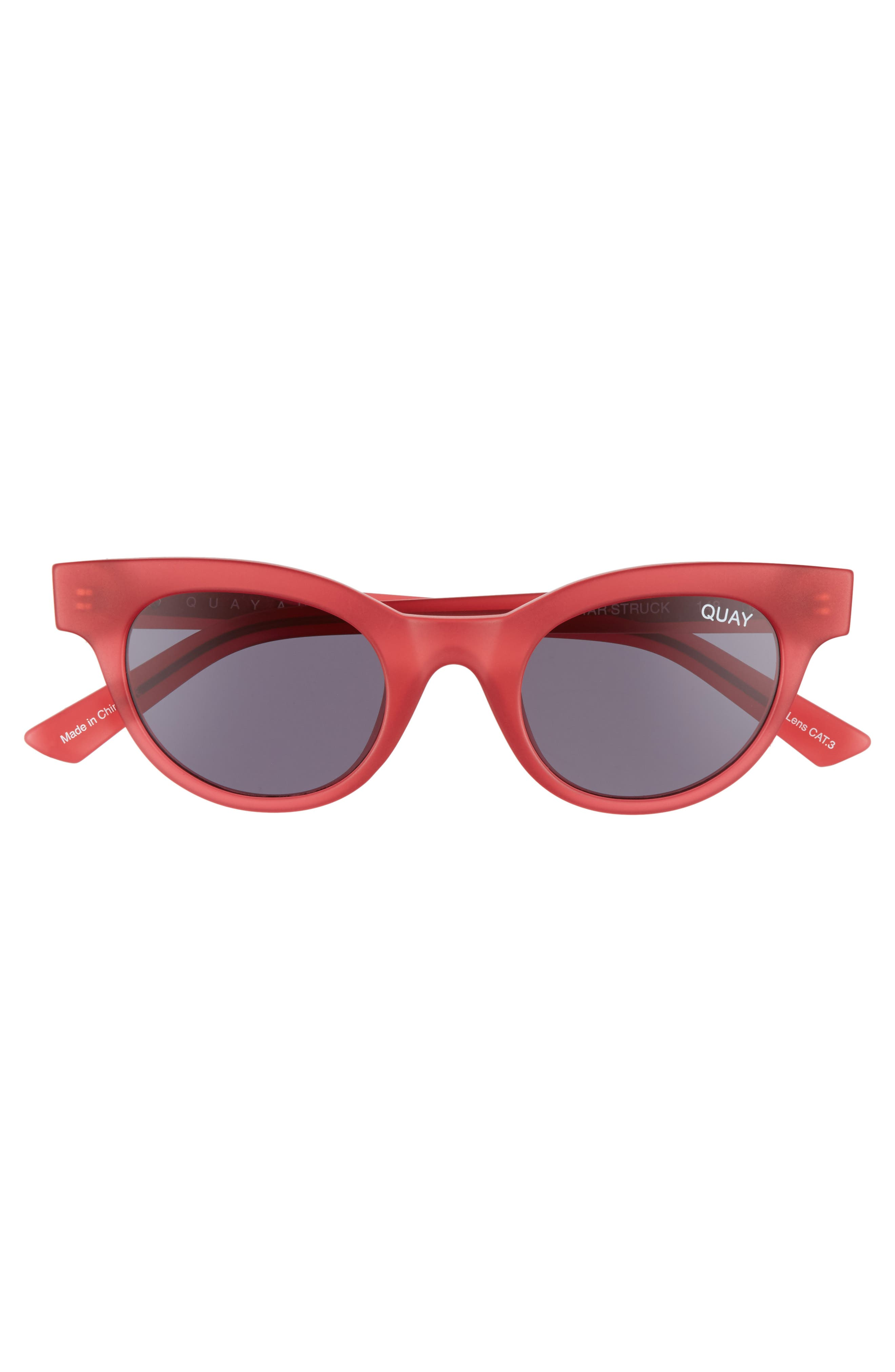 Starstruck 48mm Cat Eye Sunglasses,                             Alternate thumbnail 3, color,                             PINK SMOKE