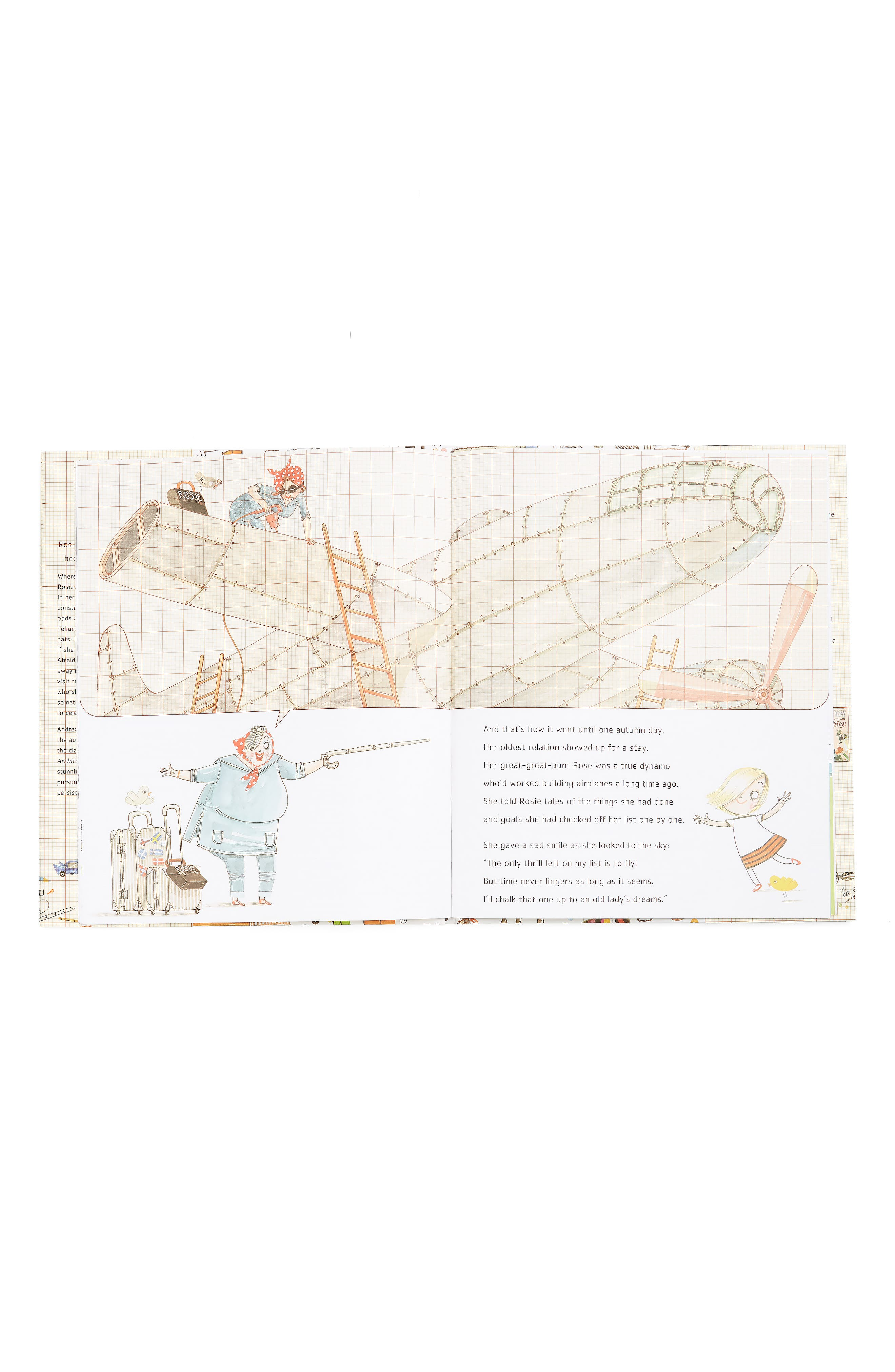 'Rosie Revere, Engineer' Book,                             Alternate thumbnail 2, color,                             BEIGE