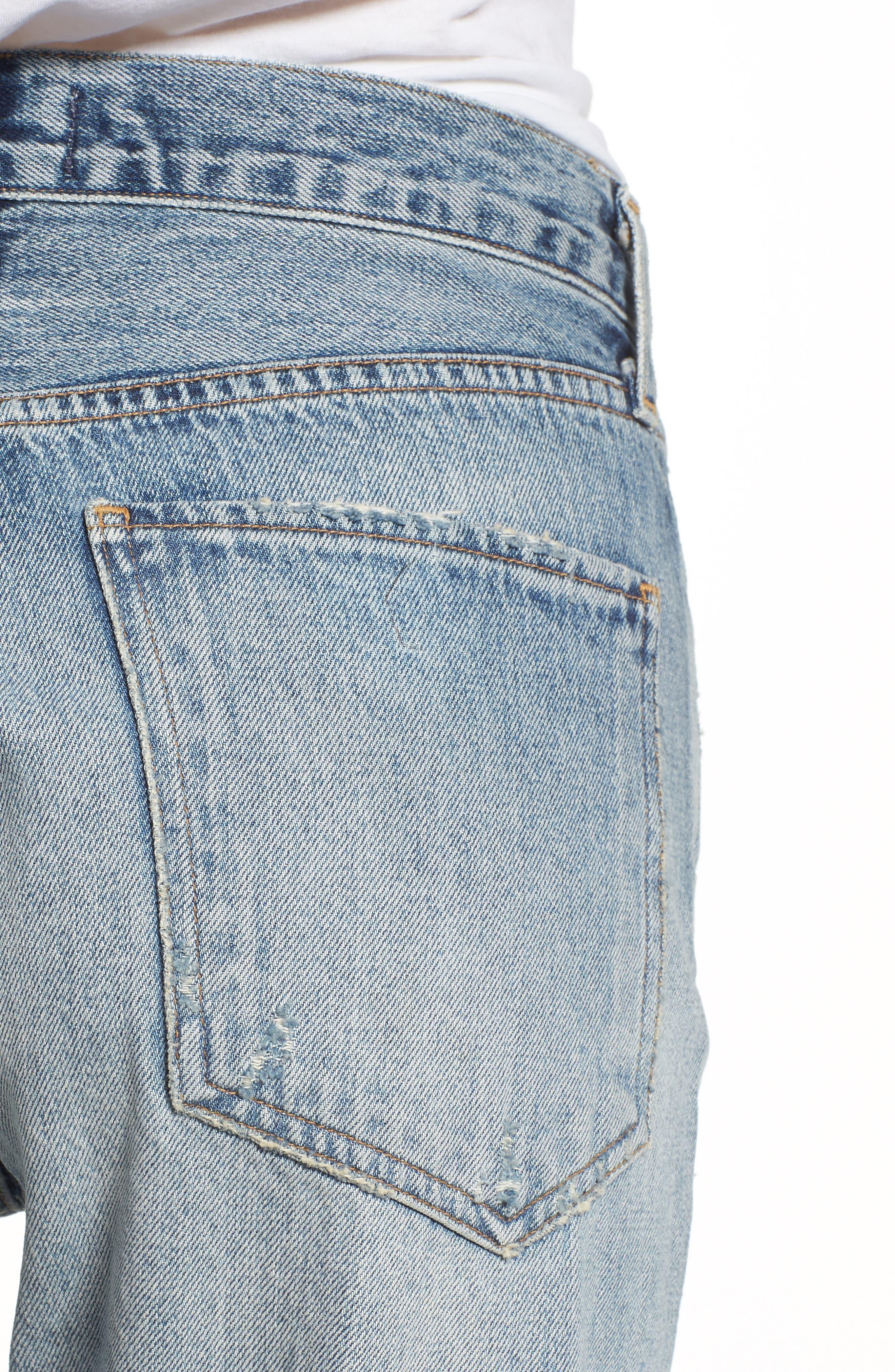 Jamie High Waist Ankle Jeans,                             Alternate thumbnail 4, color,                             RESOLUTION