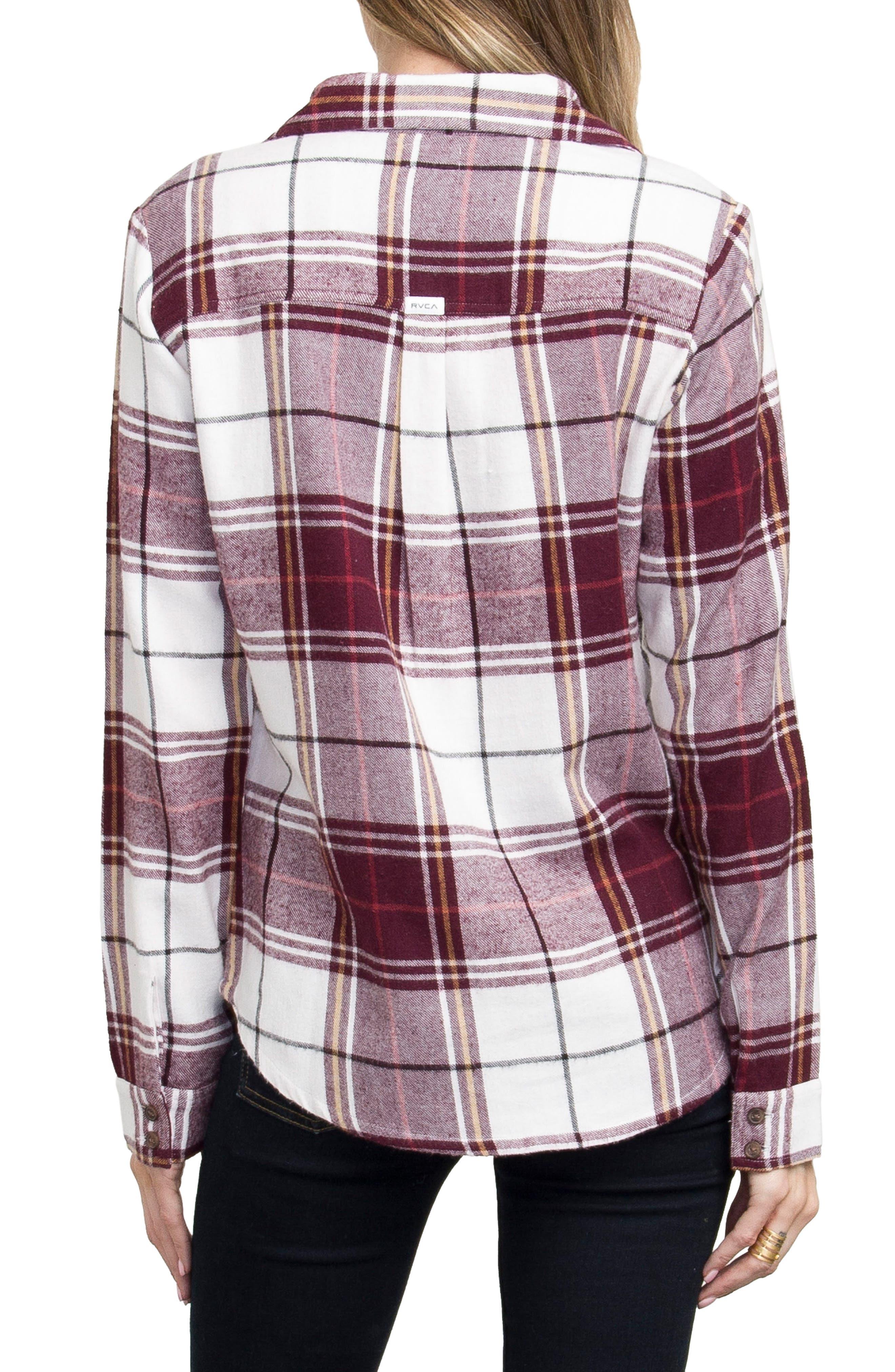 Plaid Flannel Shirt,                             Alternate thumbnail 19, color,