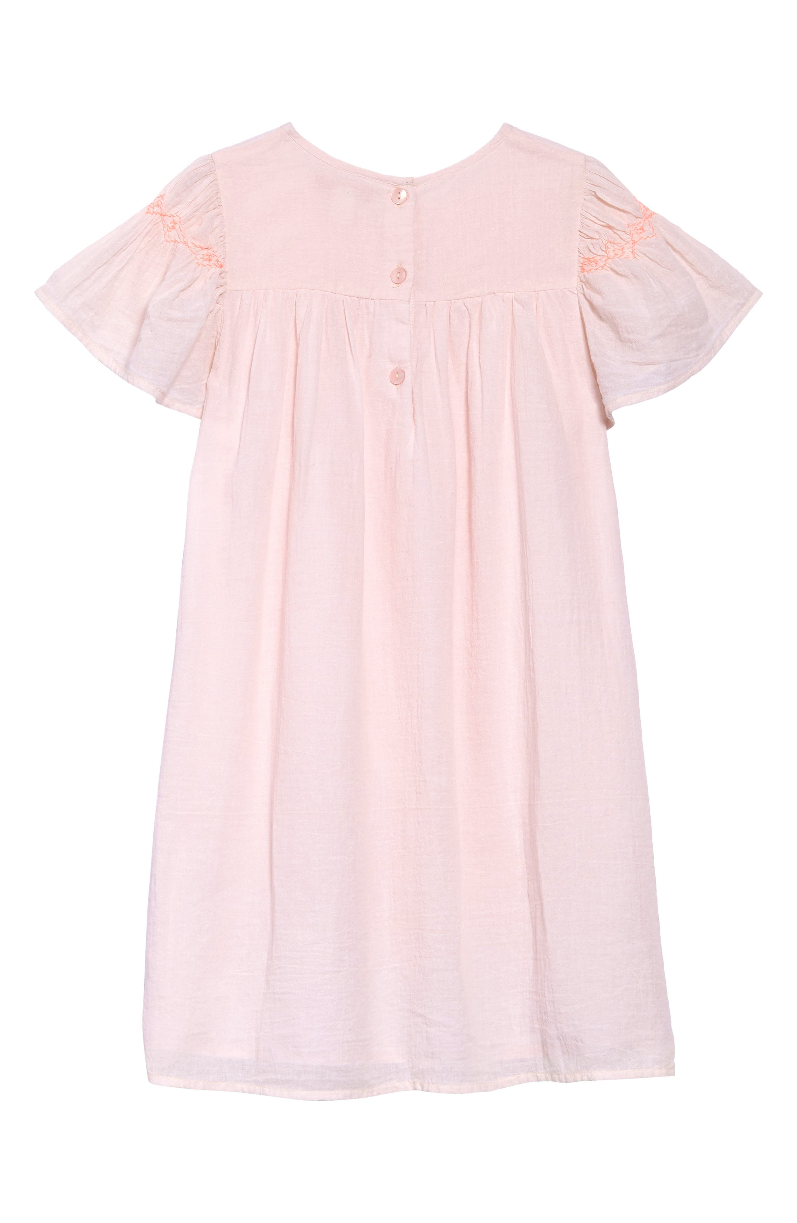 Neon Smocked Dress,                             Alternate thumbnail 2, color,                             680