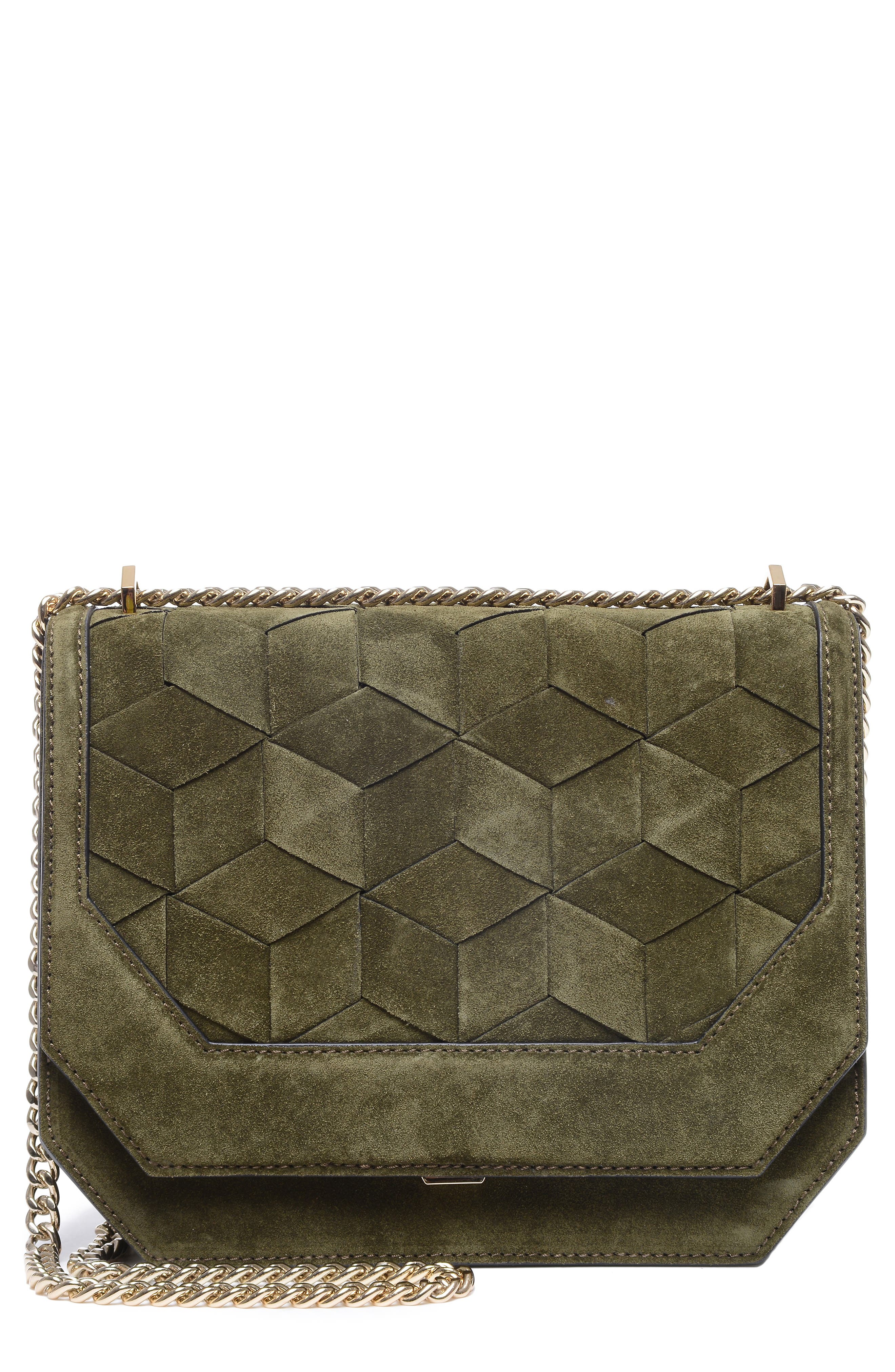 Supine Suede Shoulder Bag,                             Main thumbnail 1, color,                             300
