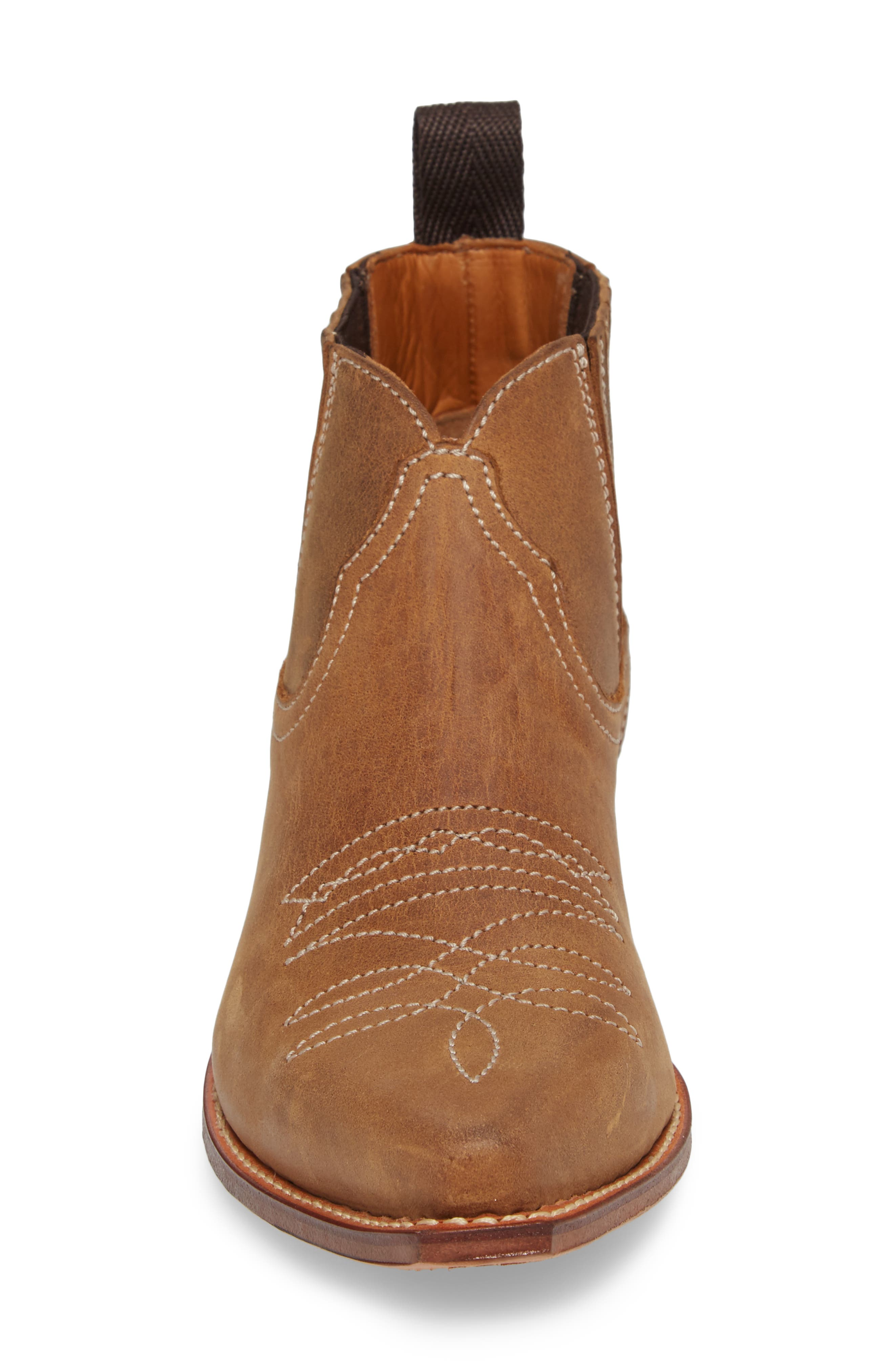 Jalon Western Bootie,                             Alternate thumbnail 4, color,                             200