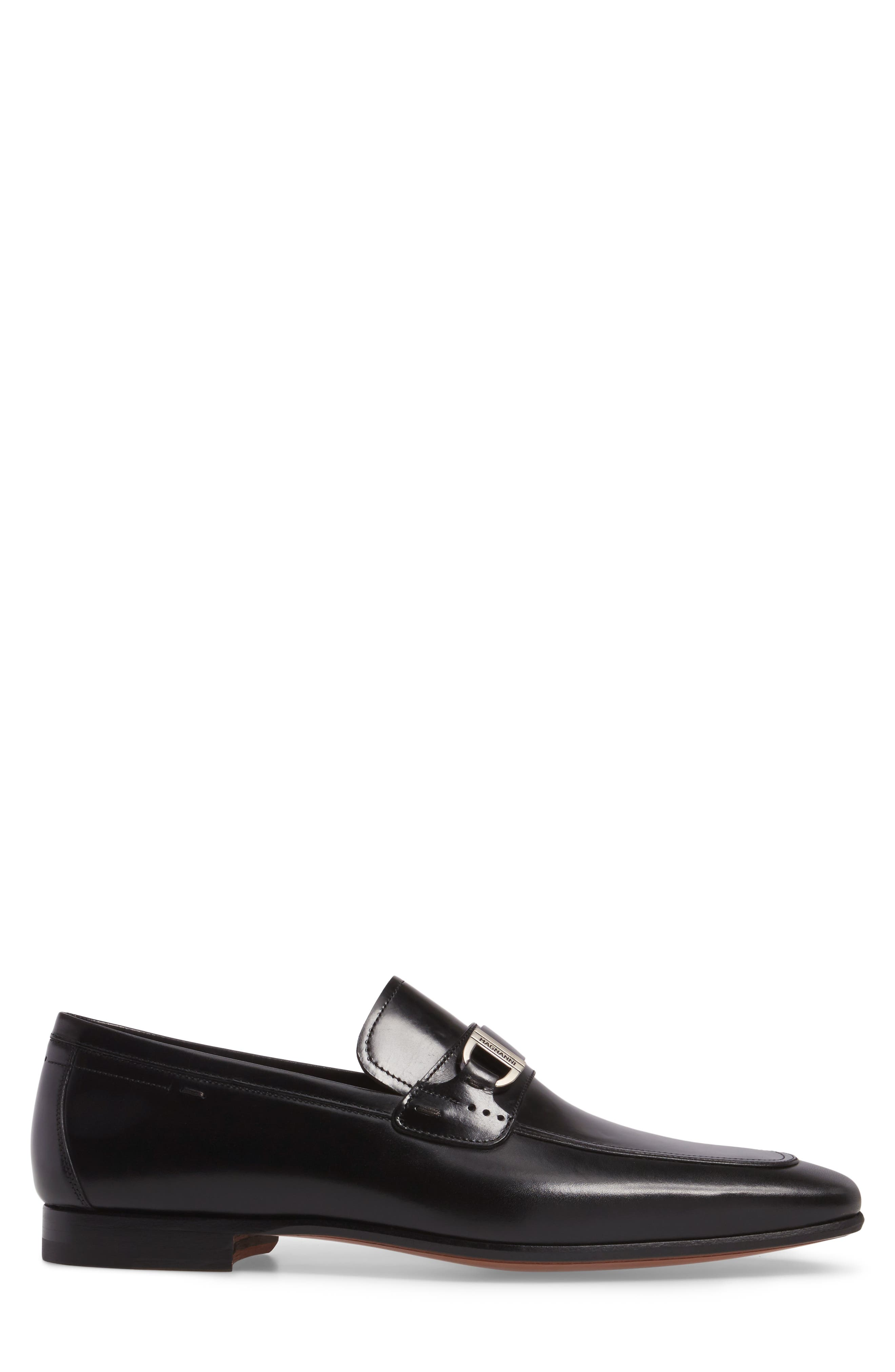 Rico Bit Venetian Loafer,                             Alternate thumbnail 3, color,                             001