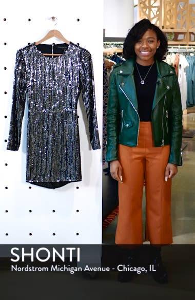 Open Back Sequin Dress, sales video thumbnail