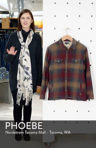 Faux Shearling Lined Shirt Jacket, sales video thumbnail