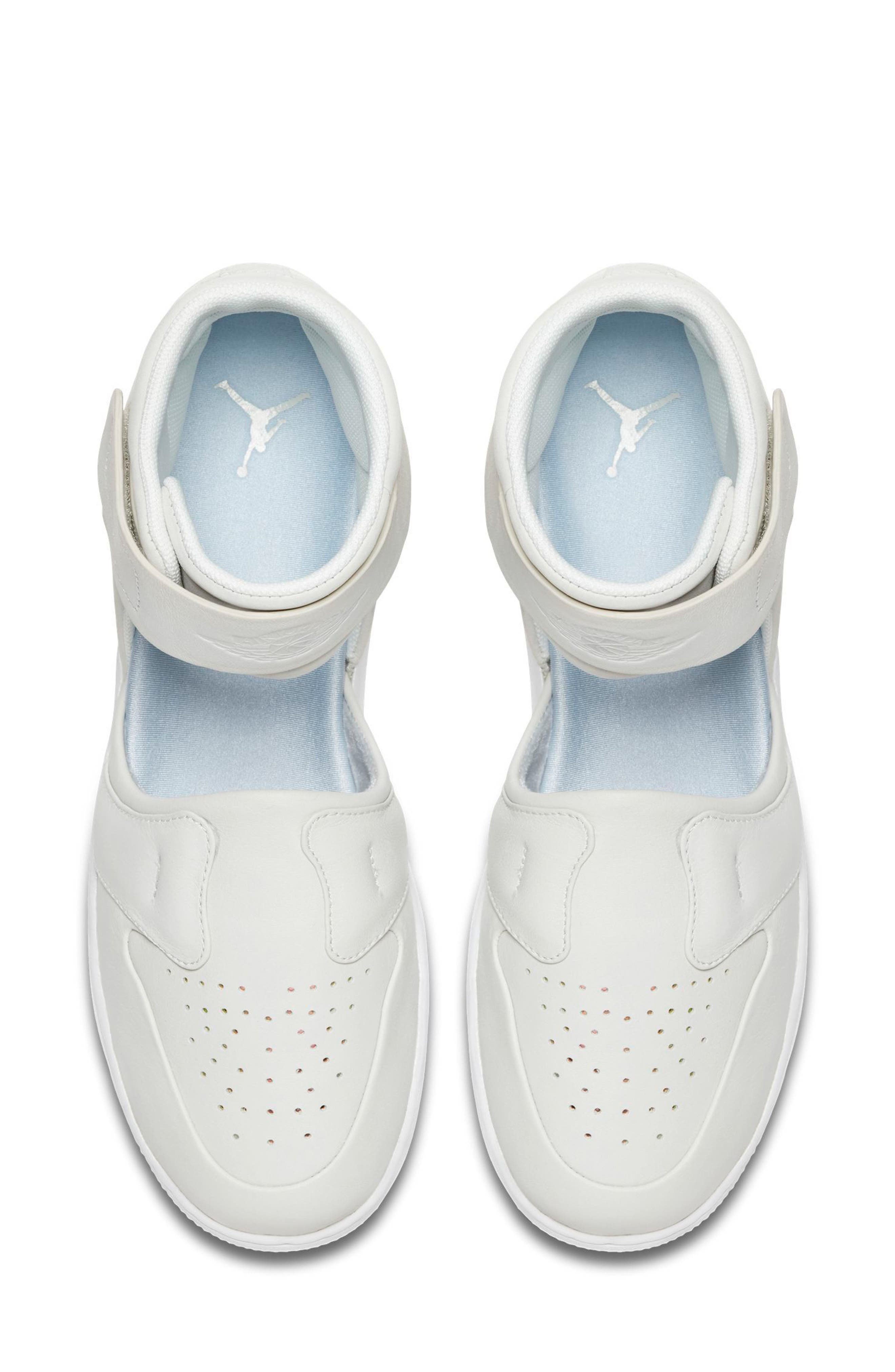 Air Jordan 1 Lover XX Ankle Strap Sneaker,                             Alternate thumbnail 4, color,                             100
