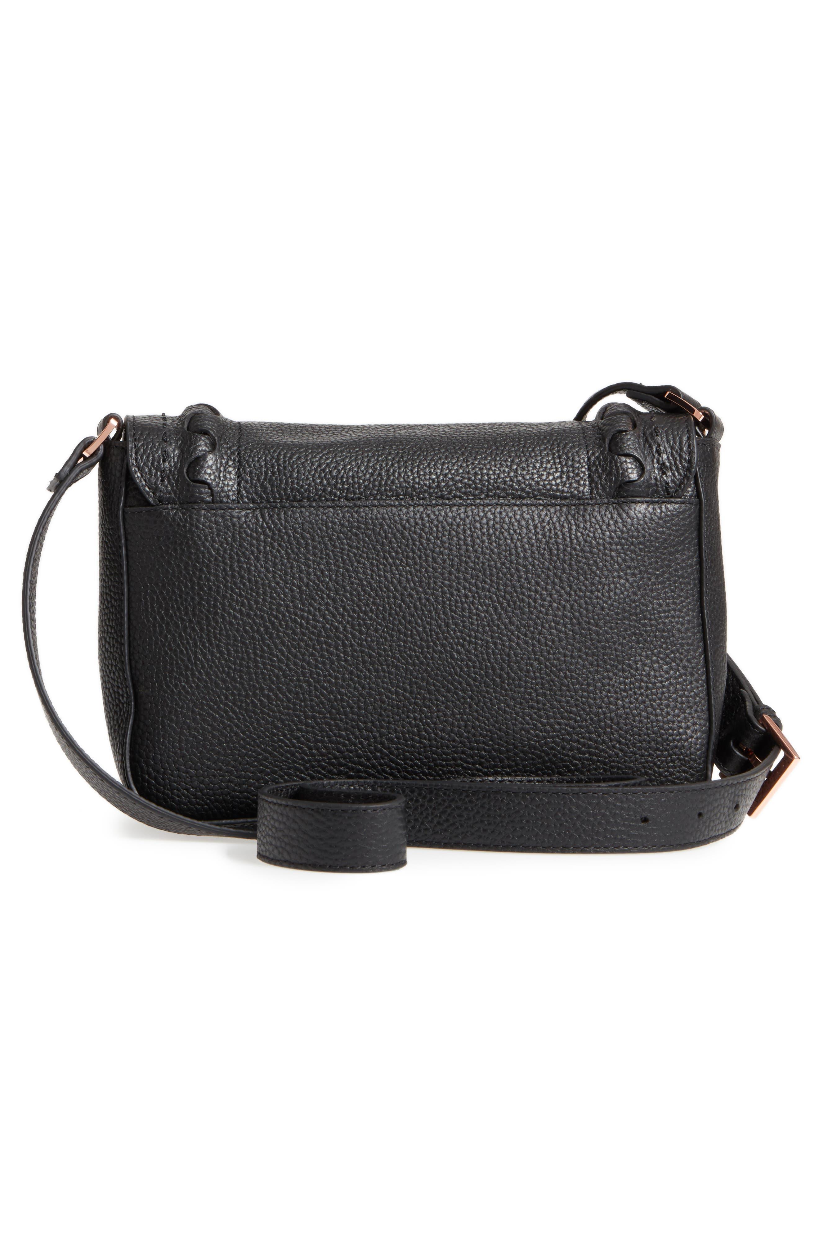 Tippi Leather Crossbody Bag,                             Alternate thumbnail 7, color,