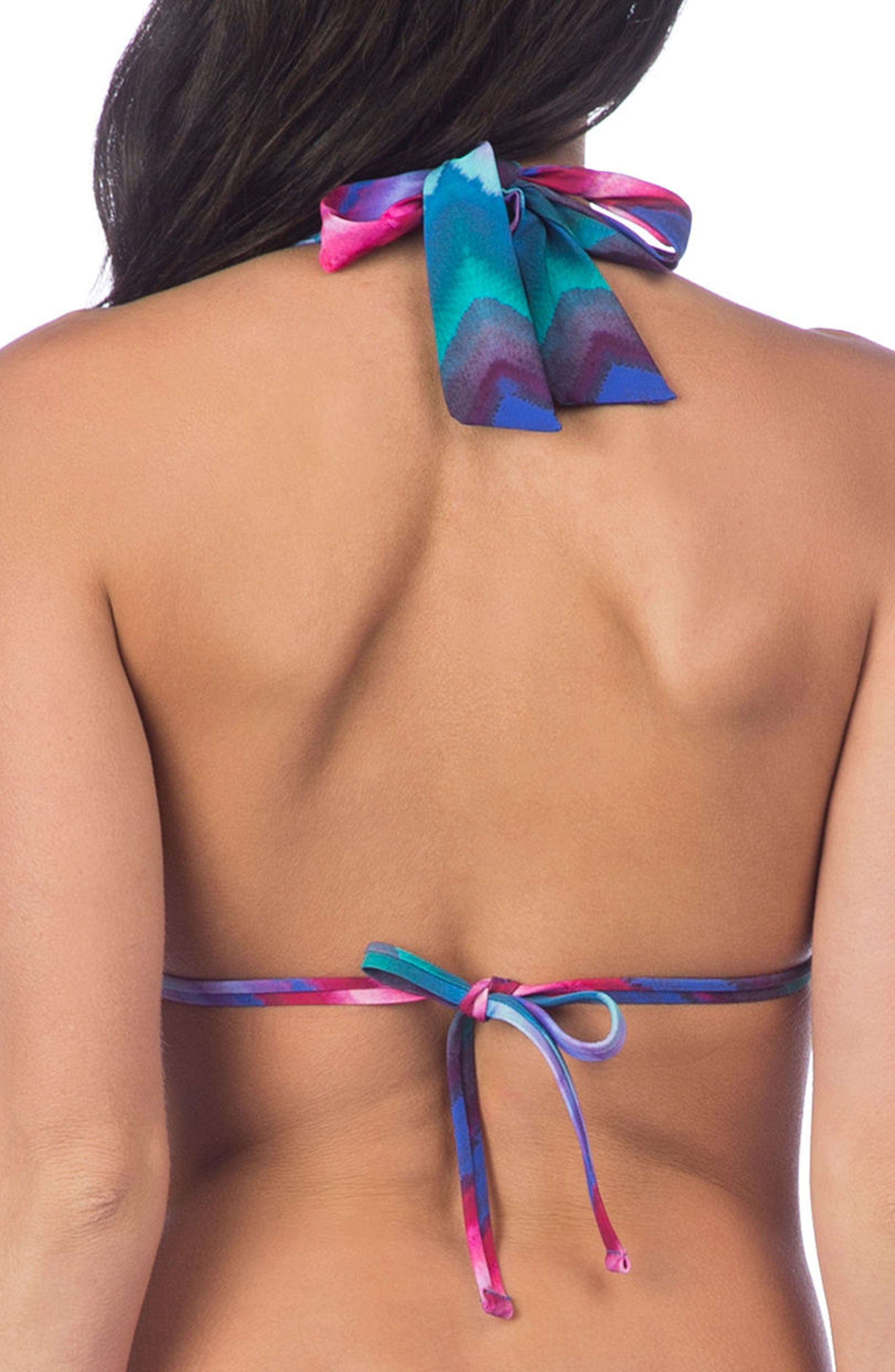 Hidden Gem Halter Bikini Top,                             Alternate thumbnail 2, color,                             400