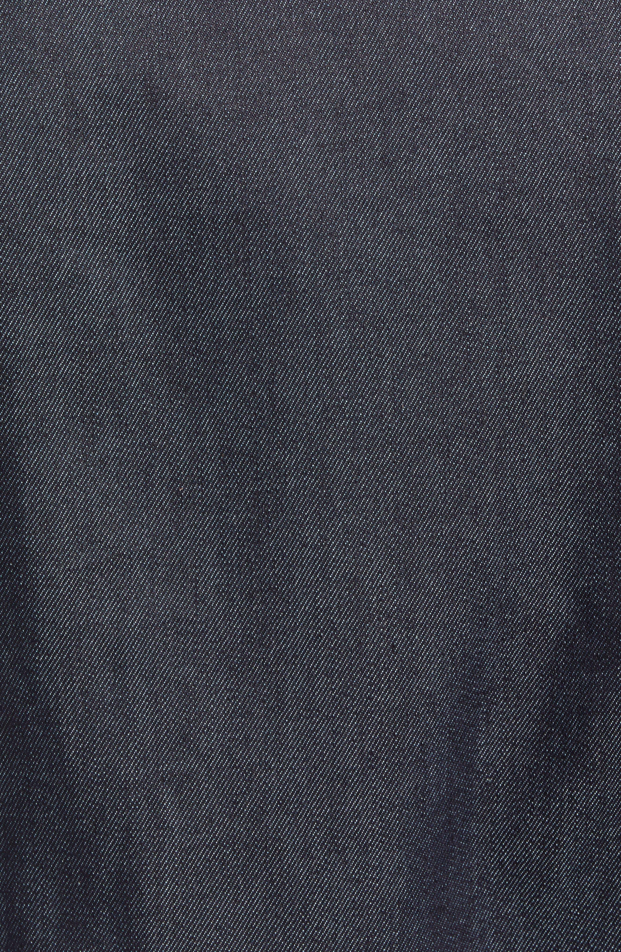Heritage Denim Jacket,                             Alternate thumbnail 7, color,                             SELEVDGE RAW