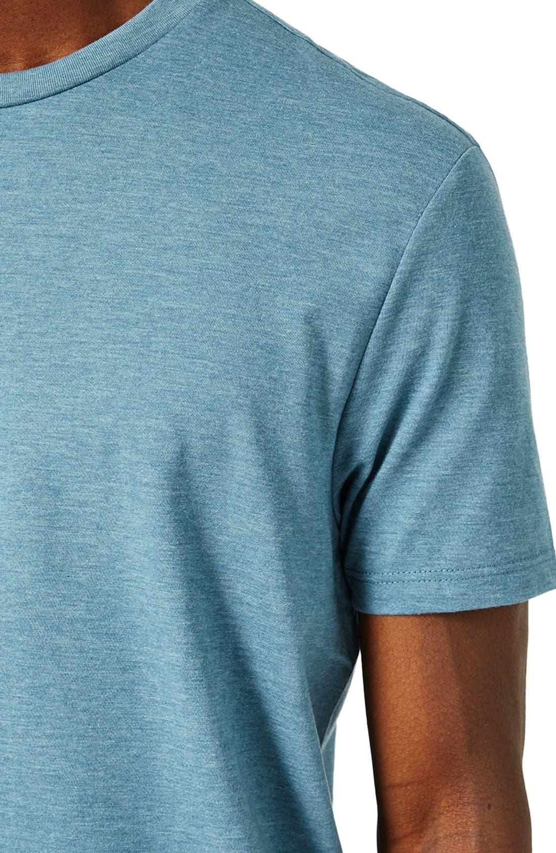 Slim Fit Crewneck T-Shirt,                             Alternate thumbnail 354, color,