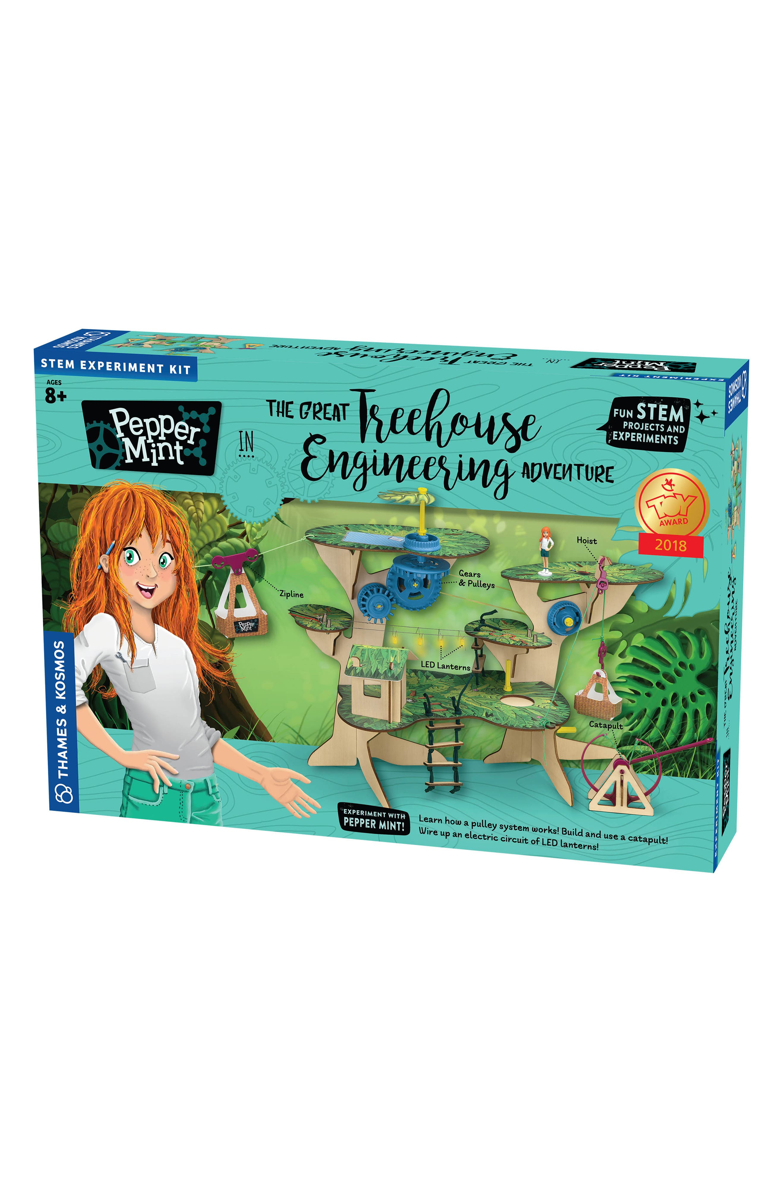 Thames  Kosmos Pepper Mint Treehouse Engineering Kit