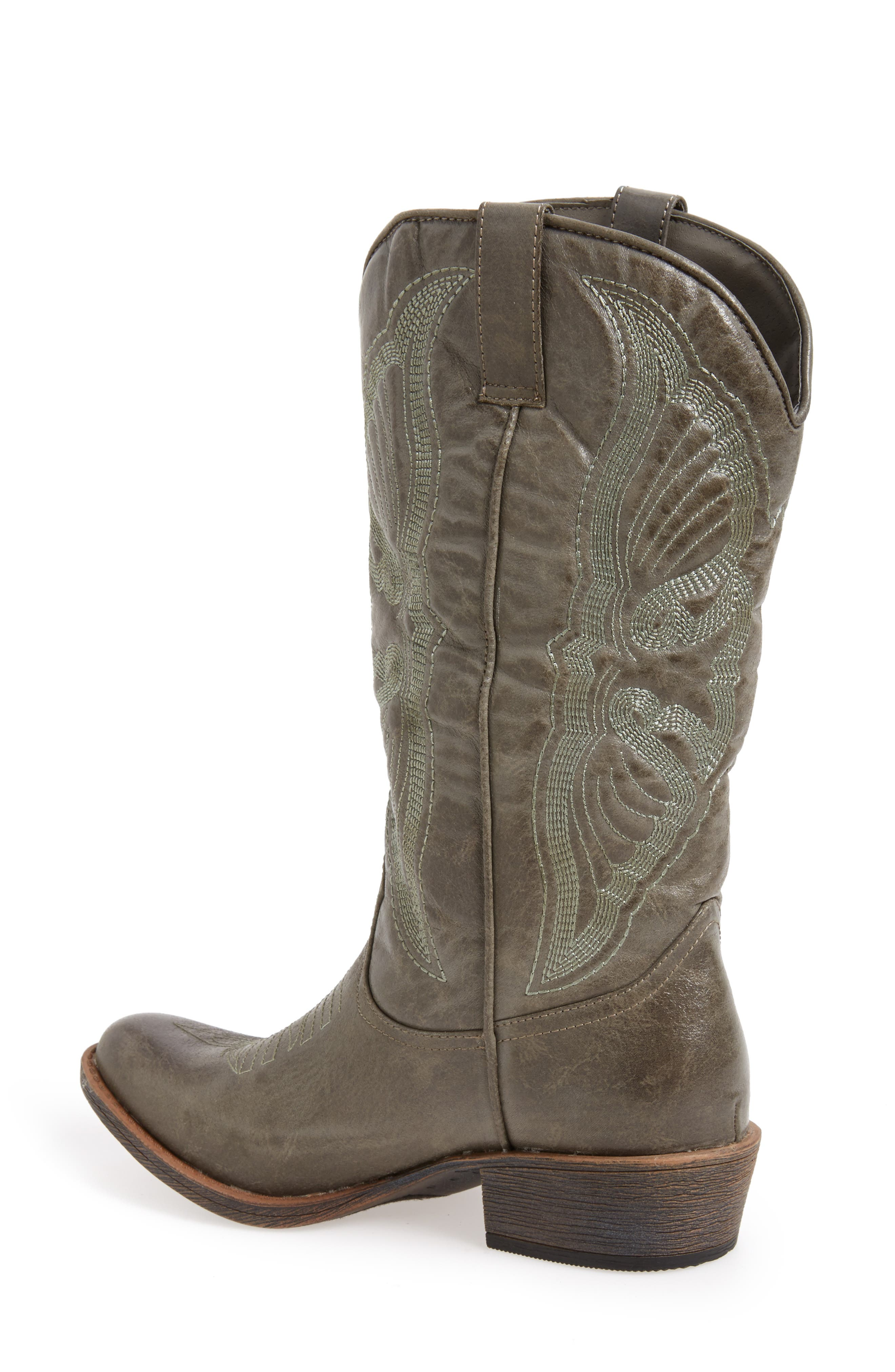 Matisse 'Chance' Western Boot,                             Alternate thumbnail 3, color,                             035