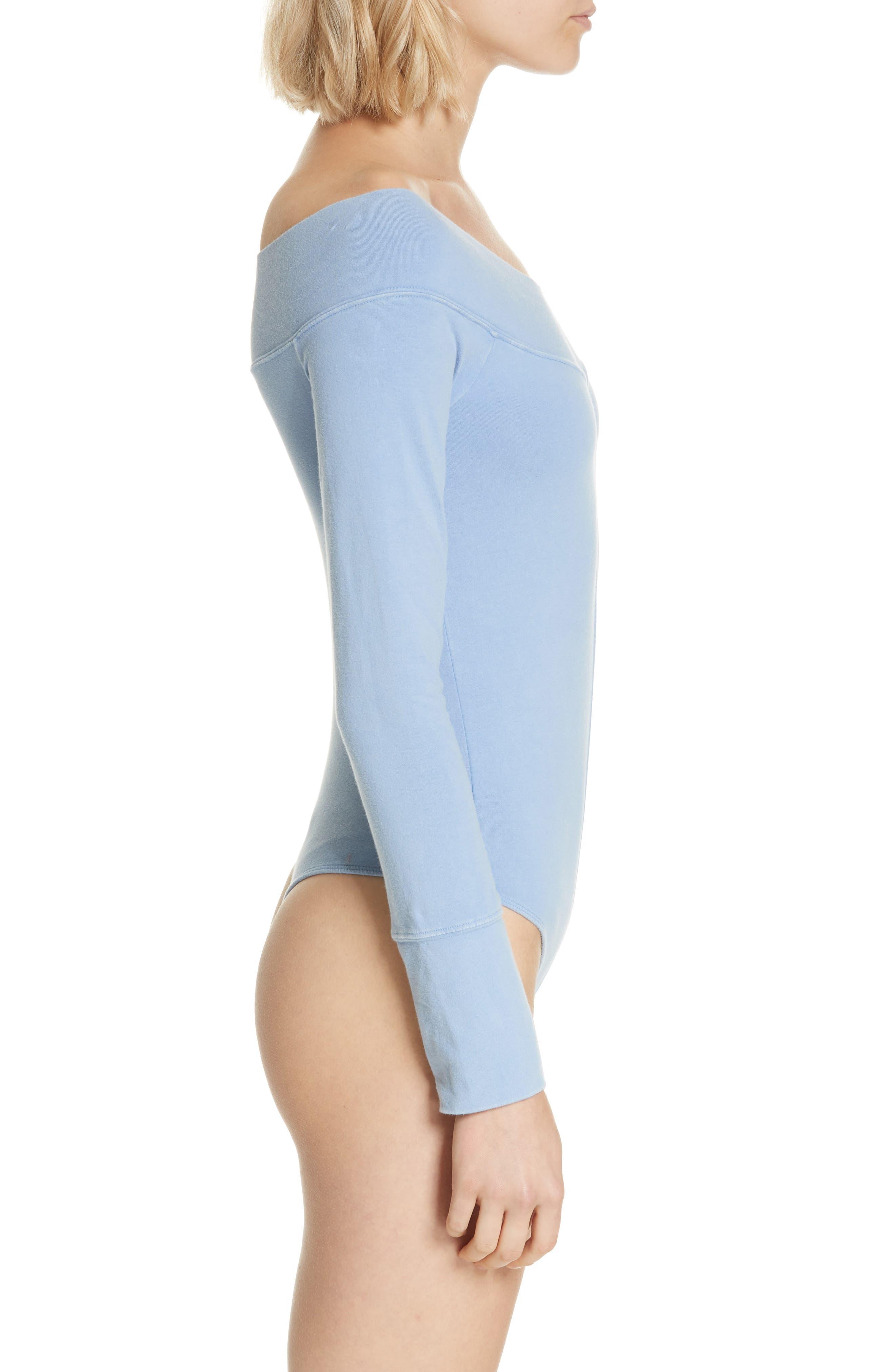 Zone Out Bodysuit,                             Alternate thumbnail 4, color,                             BLUE