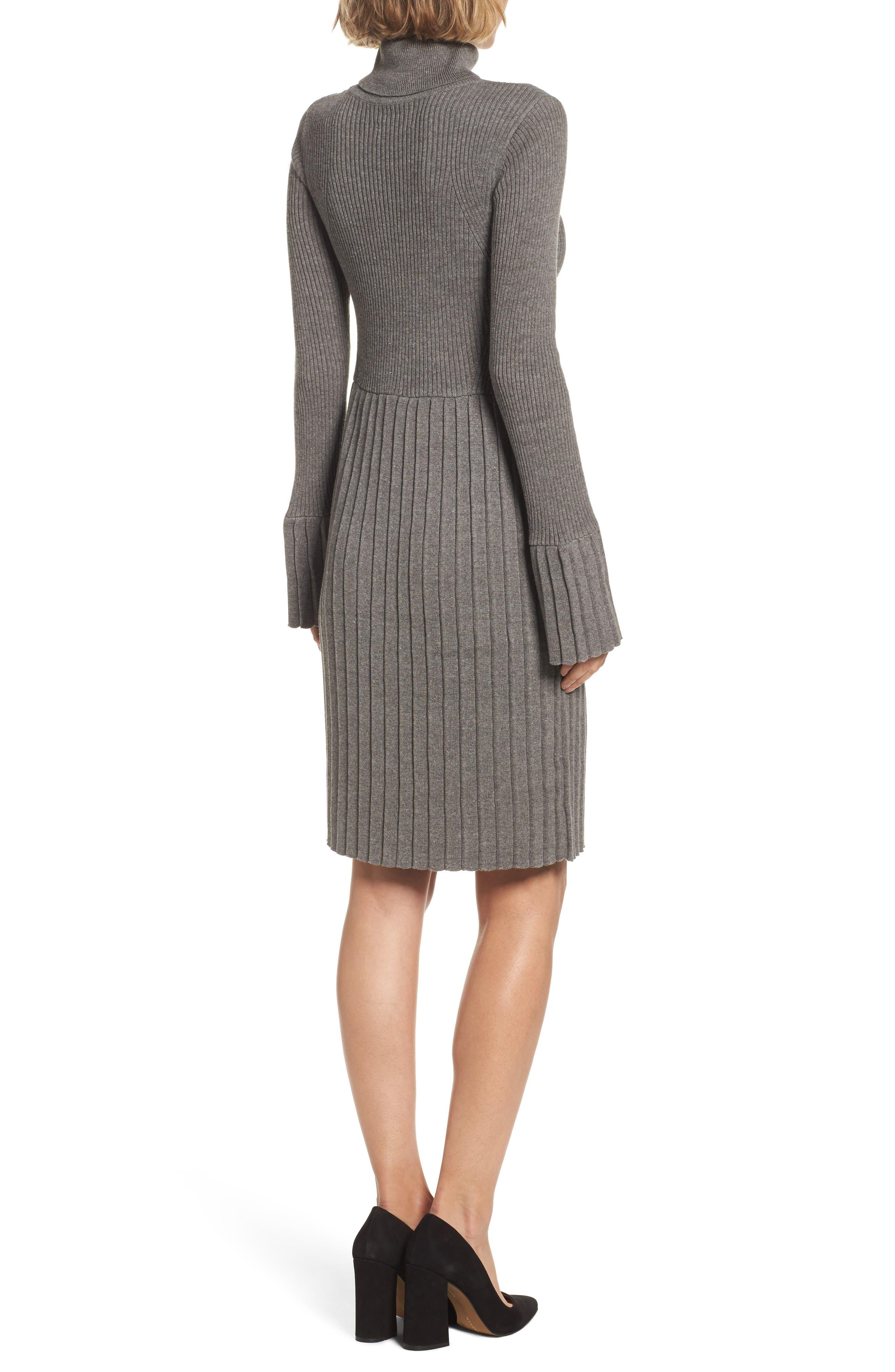 Turtleneck Dress,                             Alternate thumbnail 2, color,                             096