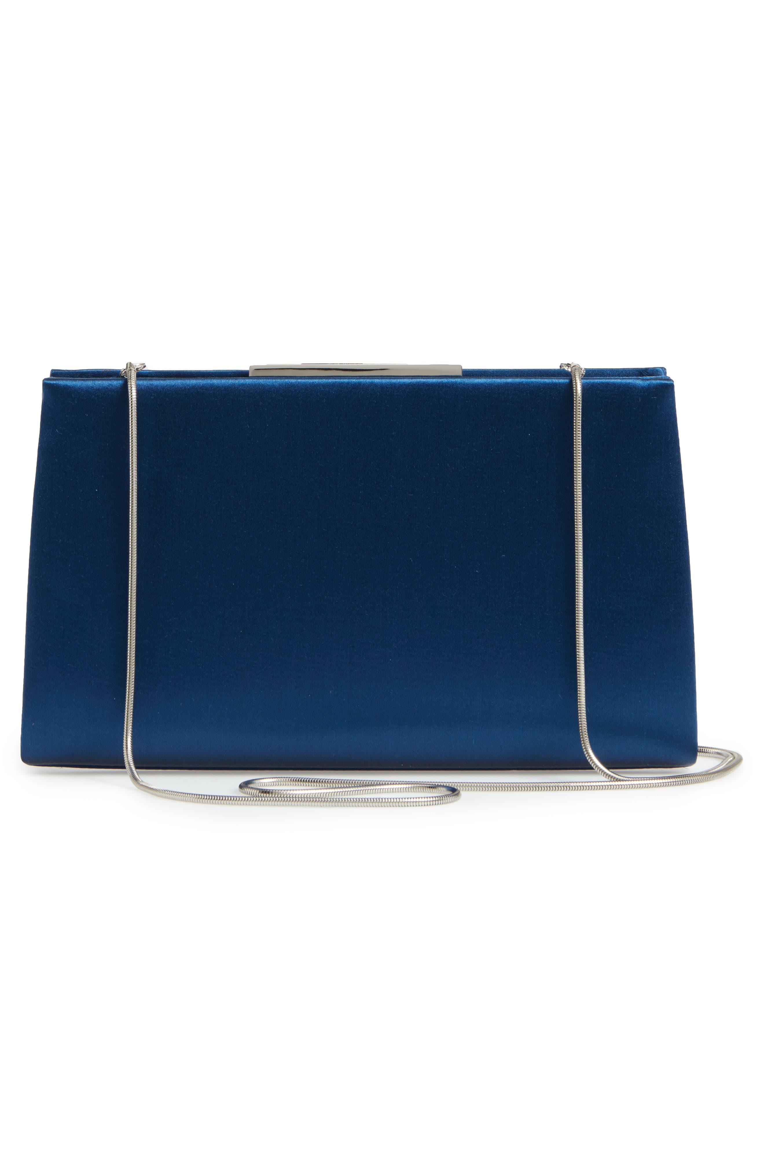 Dare Satin Clutch,                             Alternate thumbnail 9, color,