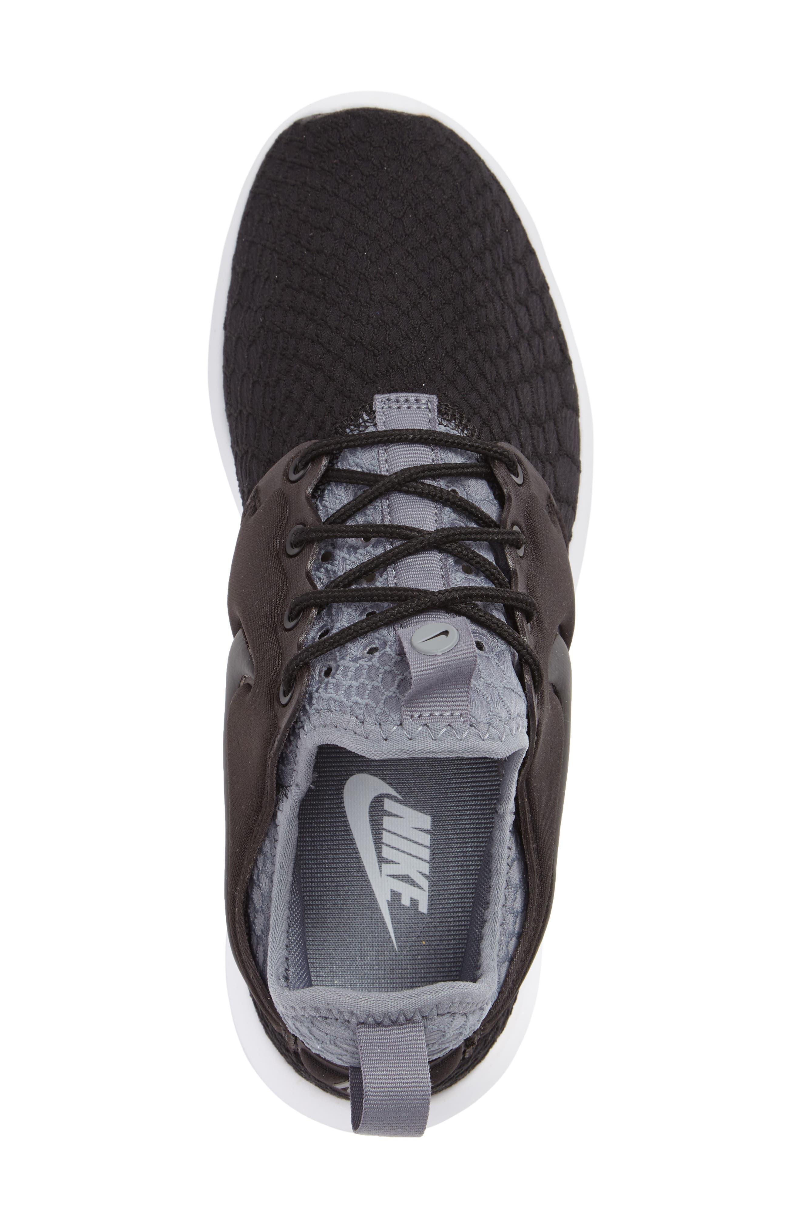 Roshe Two SE Sneaker,                             Alternate thumbnail 3, color,                             001