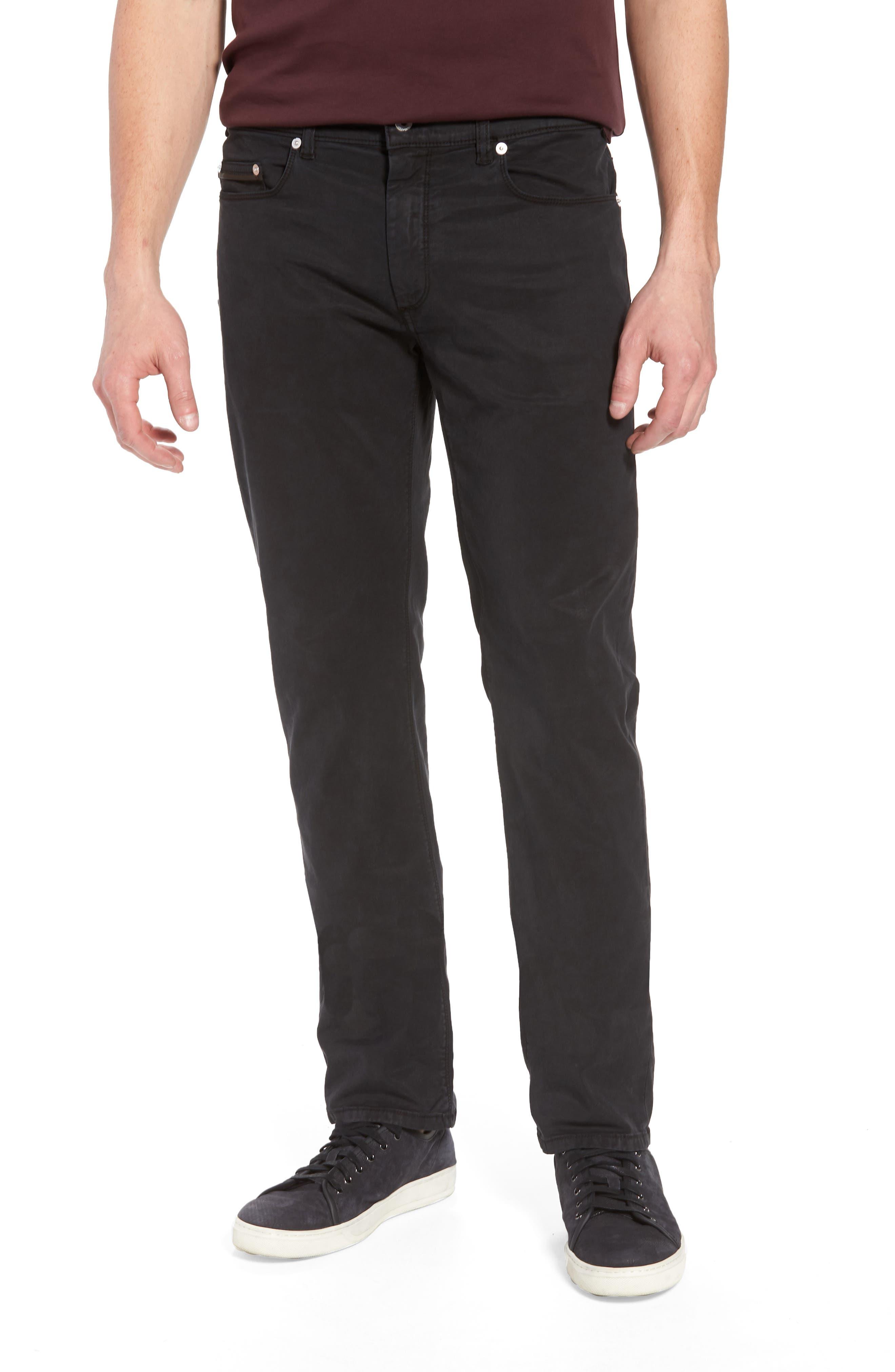 Trim Fit Pants,                             Main thumbnail 1, color,                             001