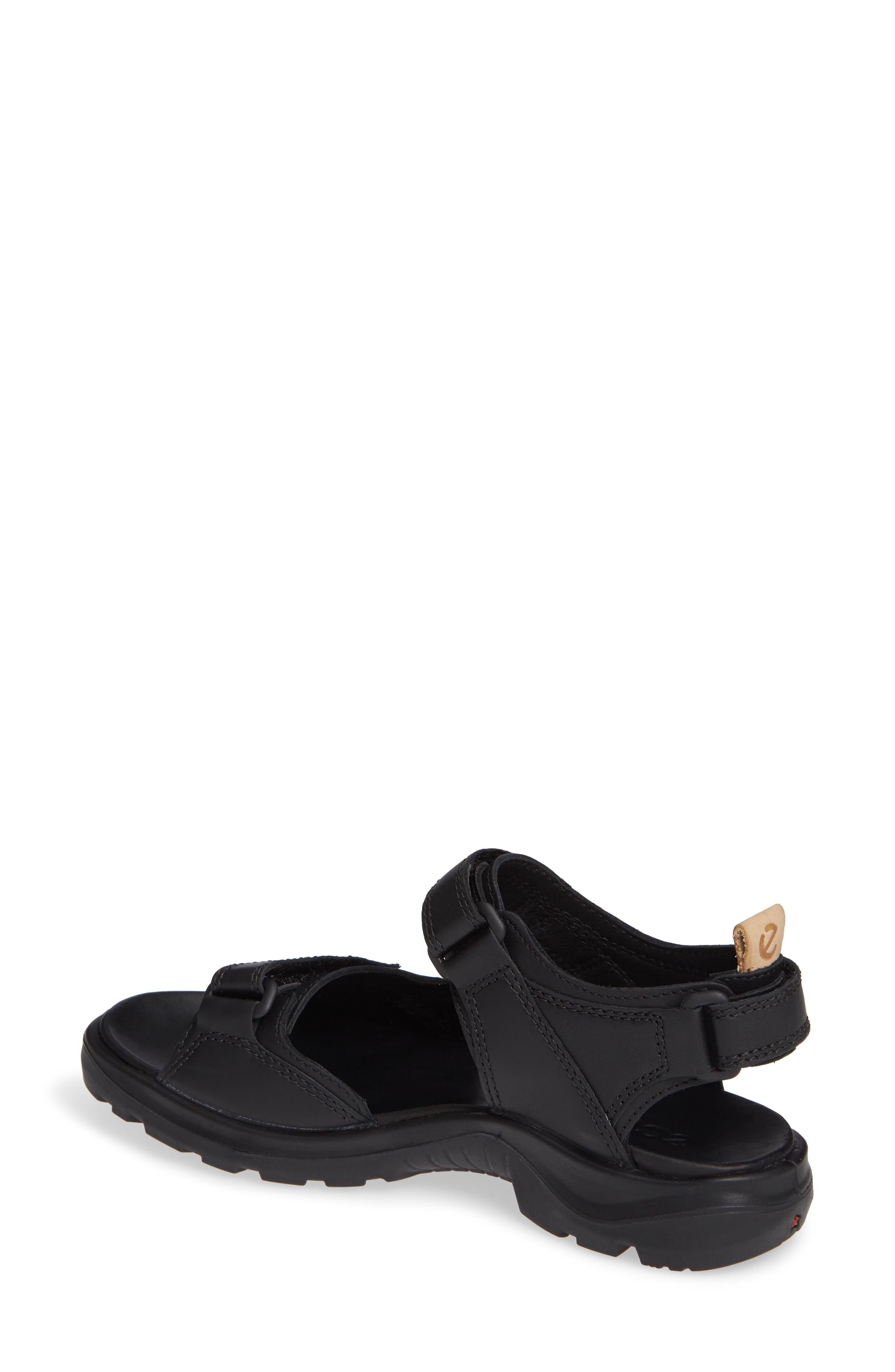 Premium Offroad Sandal,                             Alternate thumbnail 2, color,                             BLACK NUBUCK LEATHER