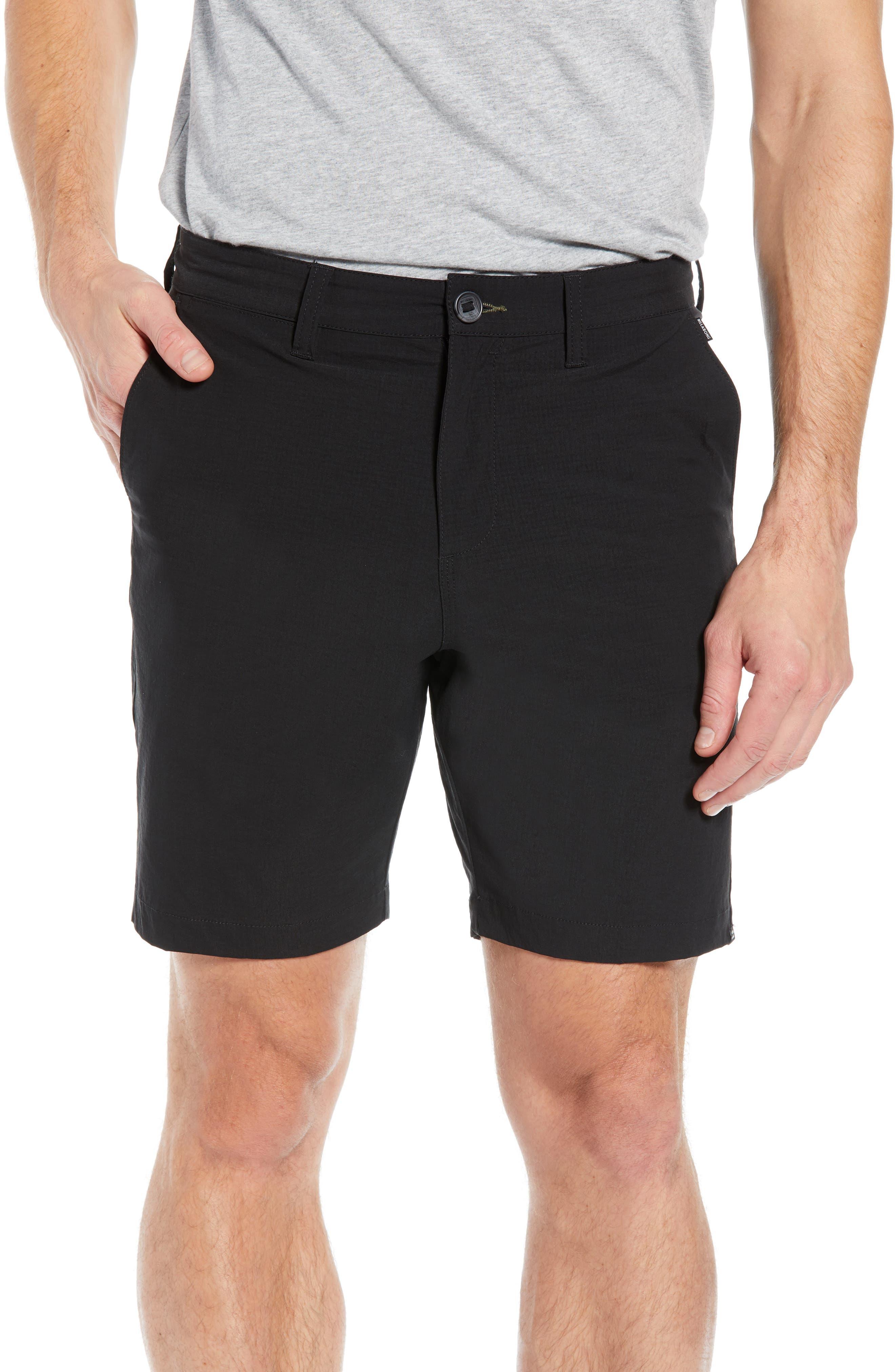 Surfreak Hybrid Shorts,                         Main,                         color, BLACK