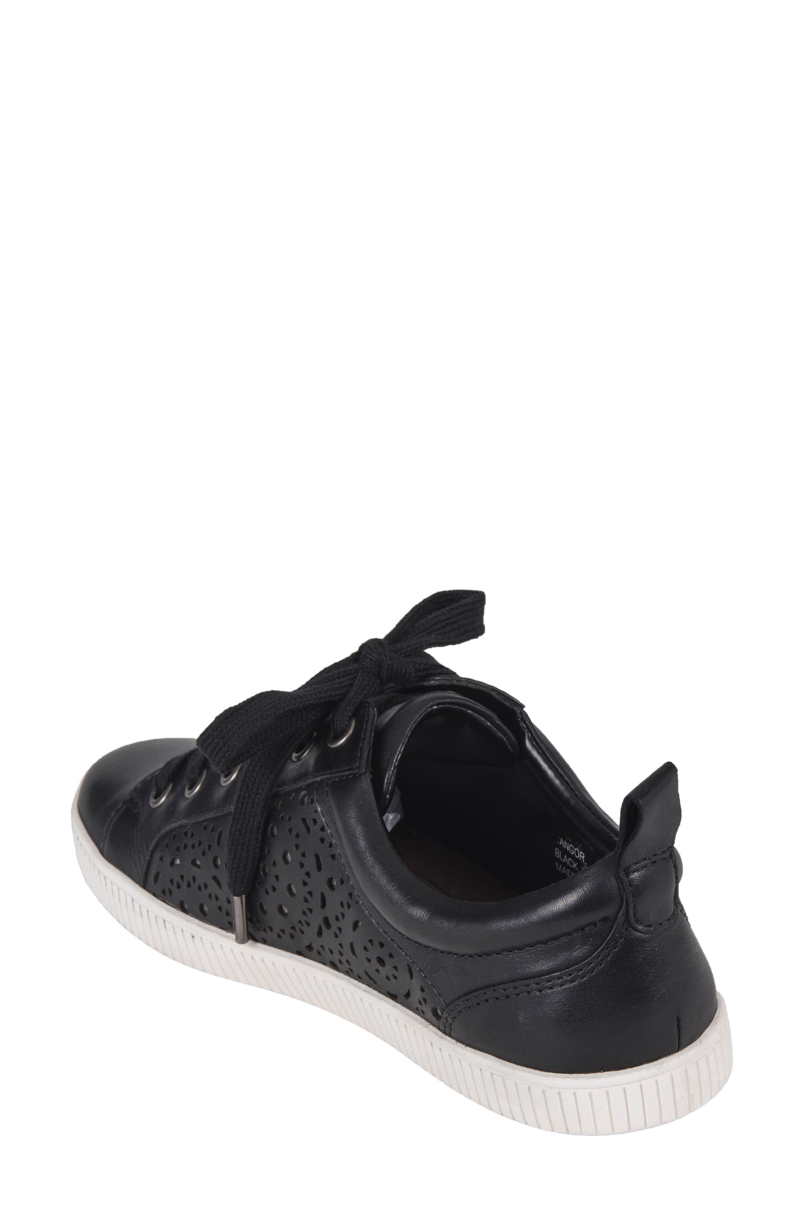 Tangor Perforated Sneaker,                             Alternate thumbnail 2, color,                             001