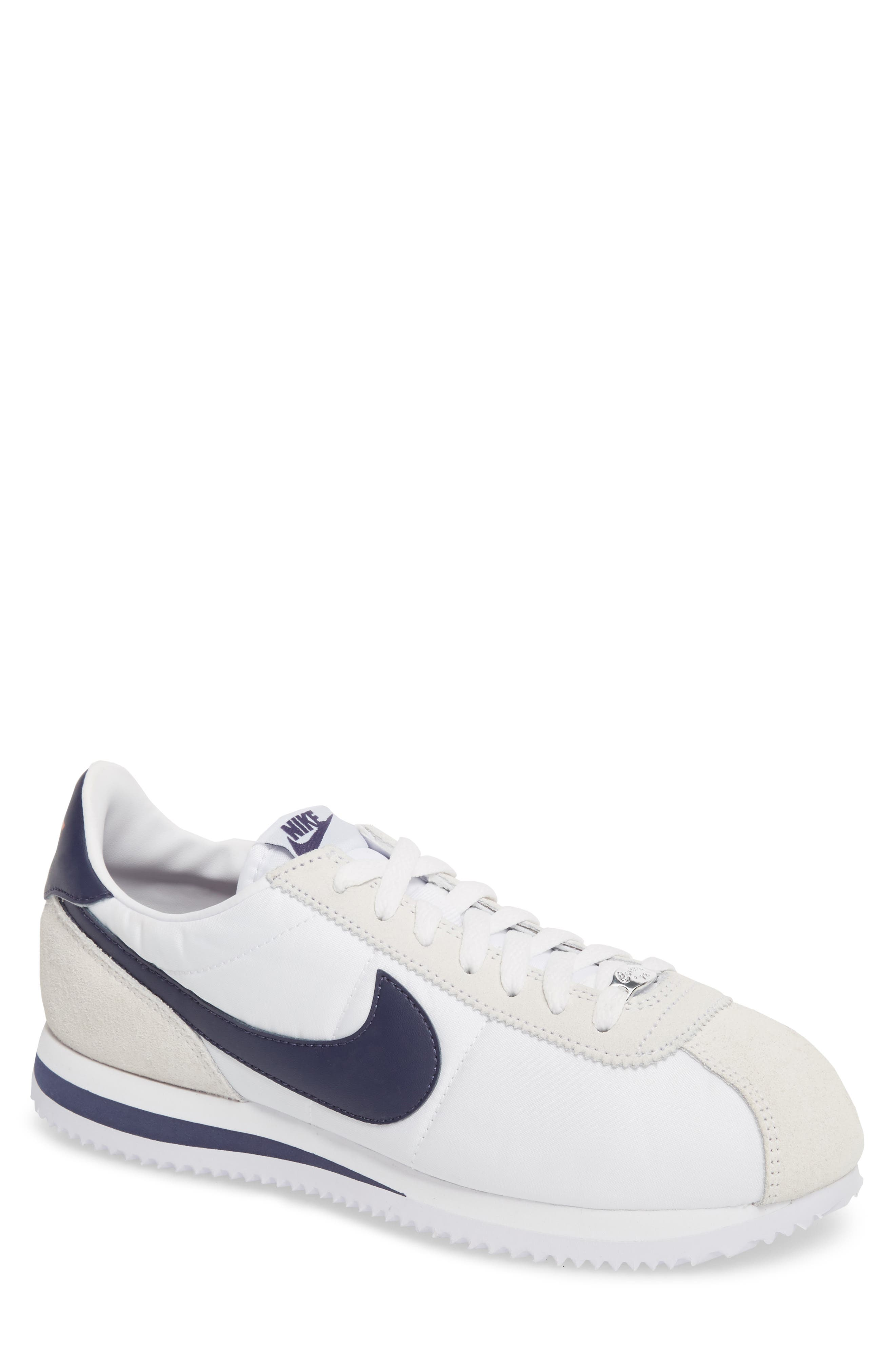 Cortez Basic Nylon Sneaker,                         Main,                         color, 102