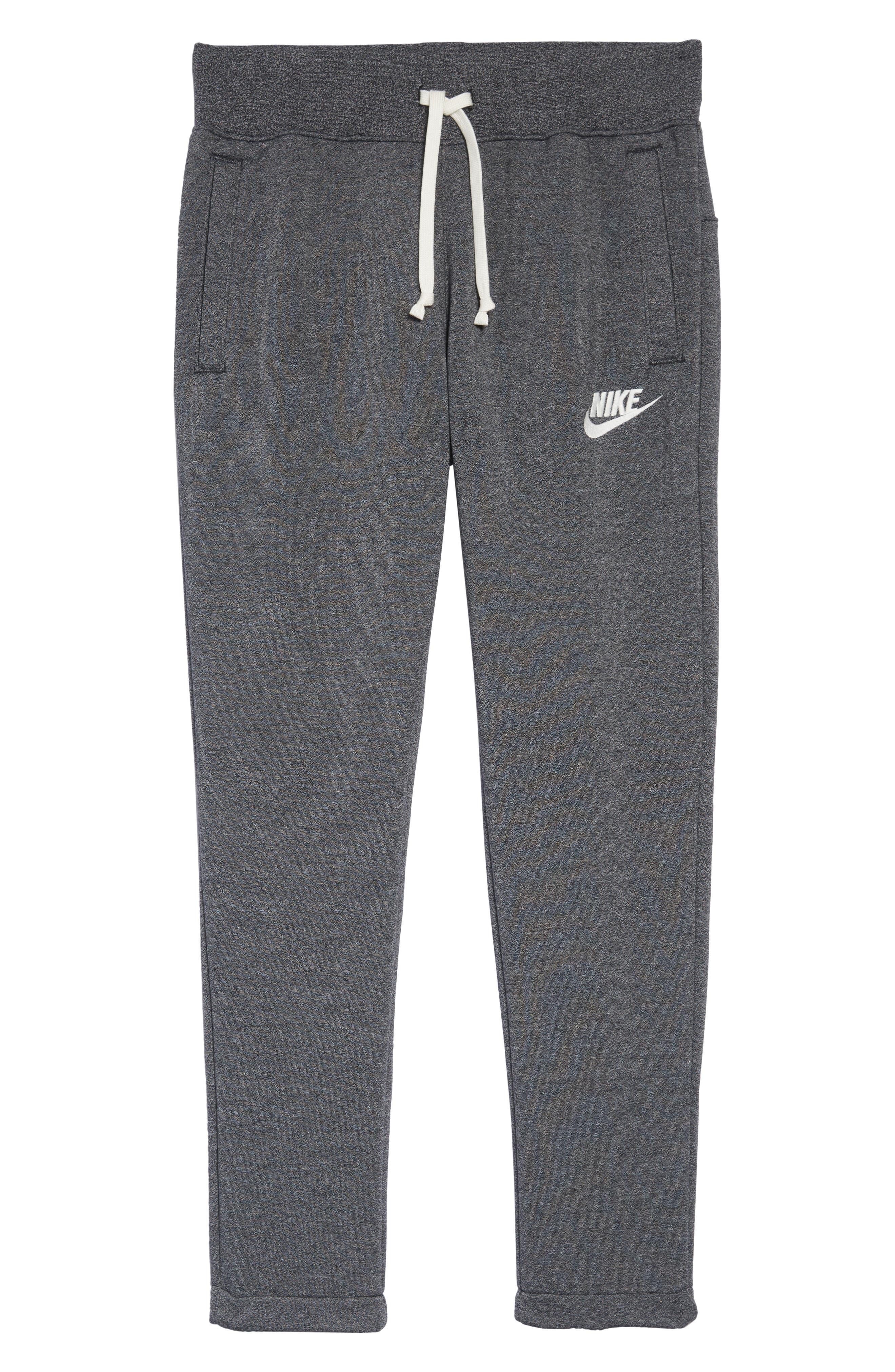 Sportswear ACG Heritage Pants,                             Alternate thumbnail 6, color,                             BLACK/ HTR/ SAIL