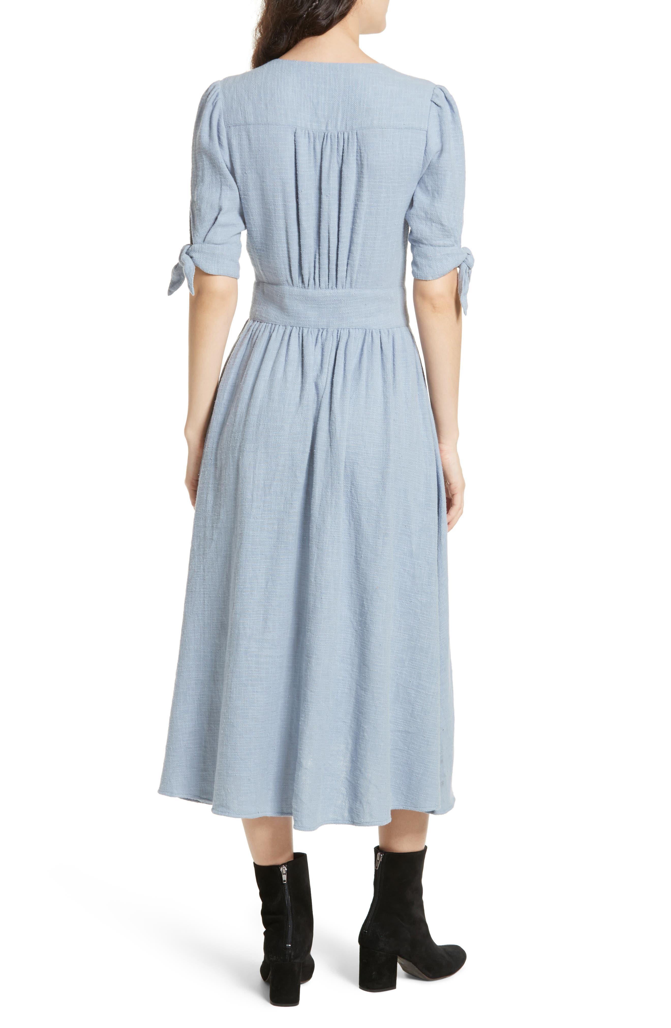 Love of My Life Midi Dress,                             Alternate thumbnail 2, color,                             BLUE