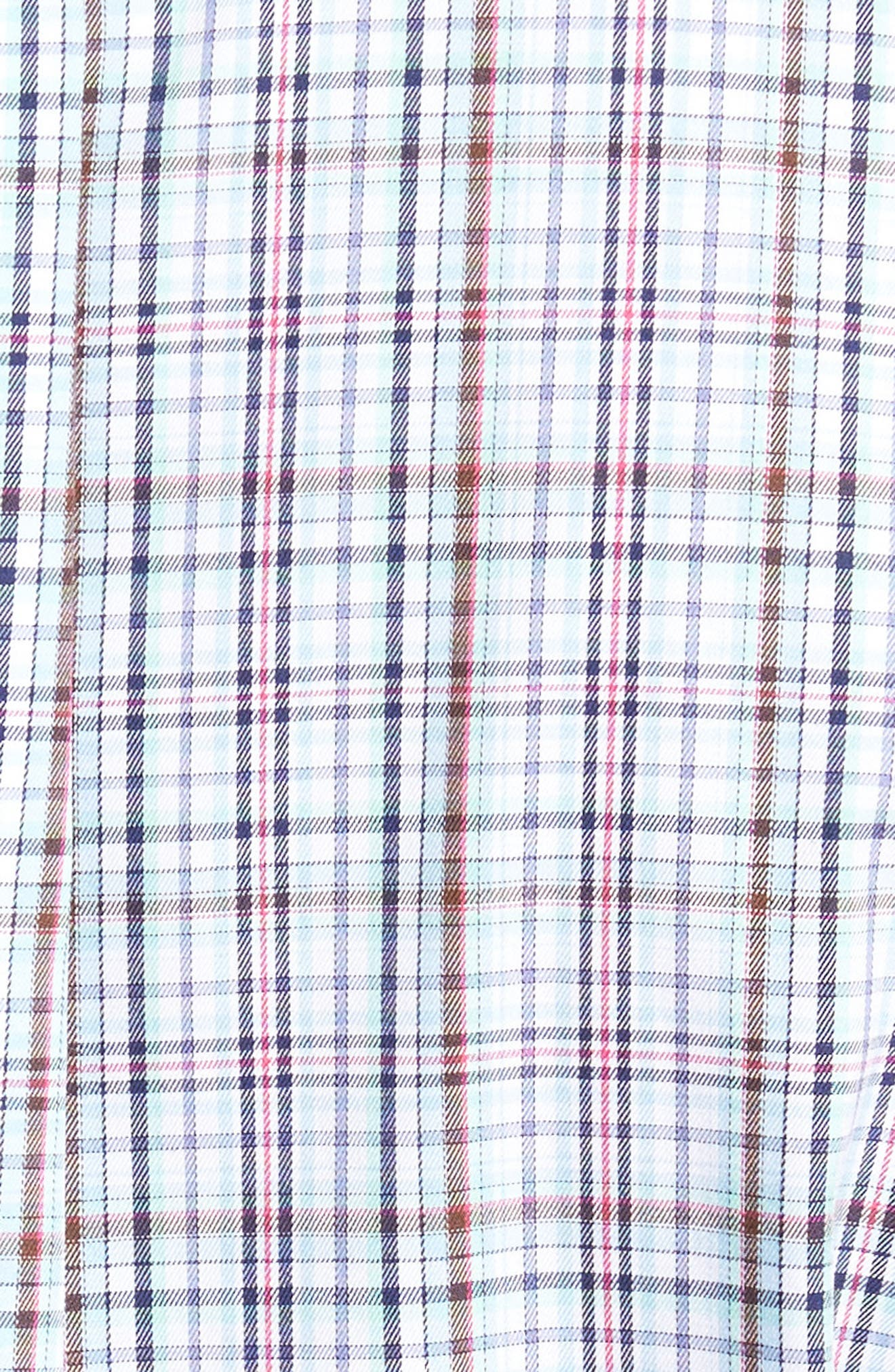 Crown Ease Tango Pinwheel Regular Fit Sport Shirt,                             Alternate thumbnail 5, color,                             453