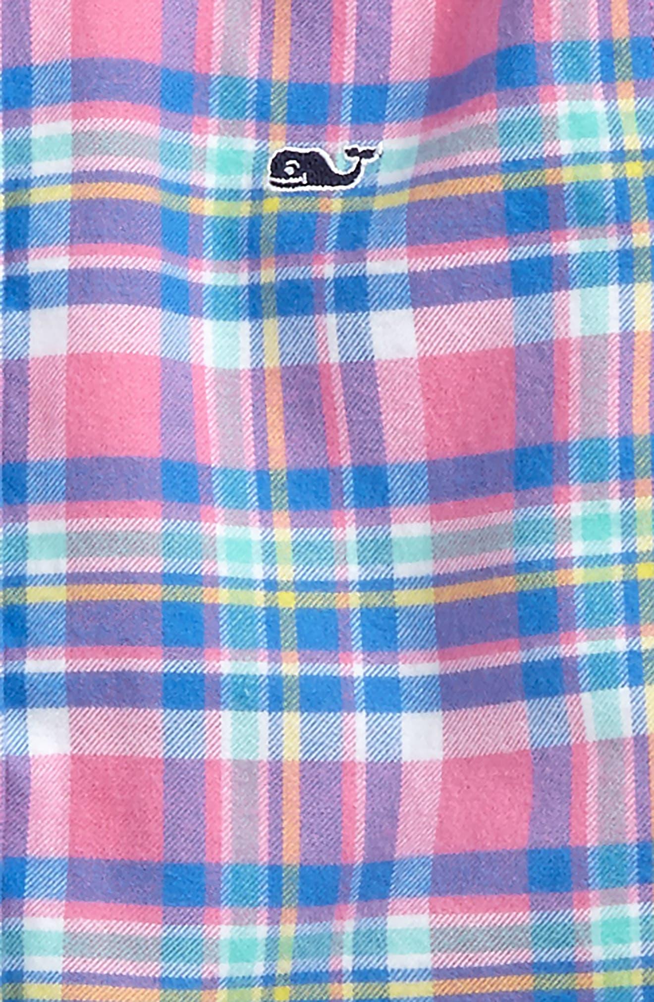 Cape Haze Plaid Flannel Shirt,                             Alternate thumbnail 2, color,                             400