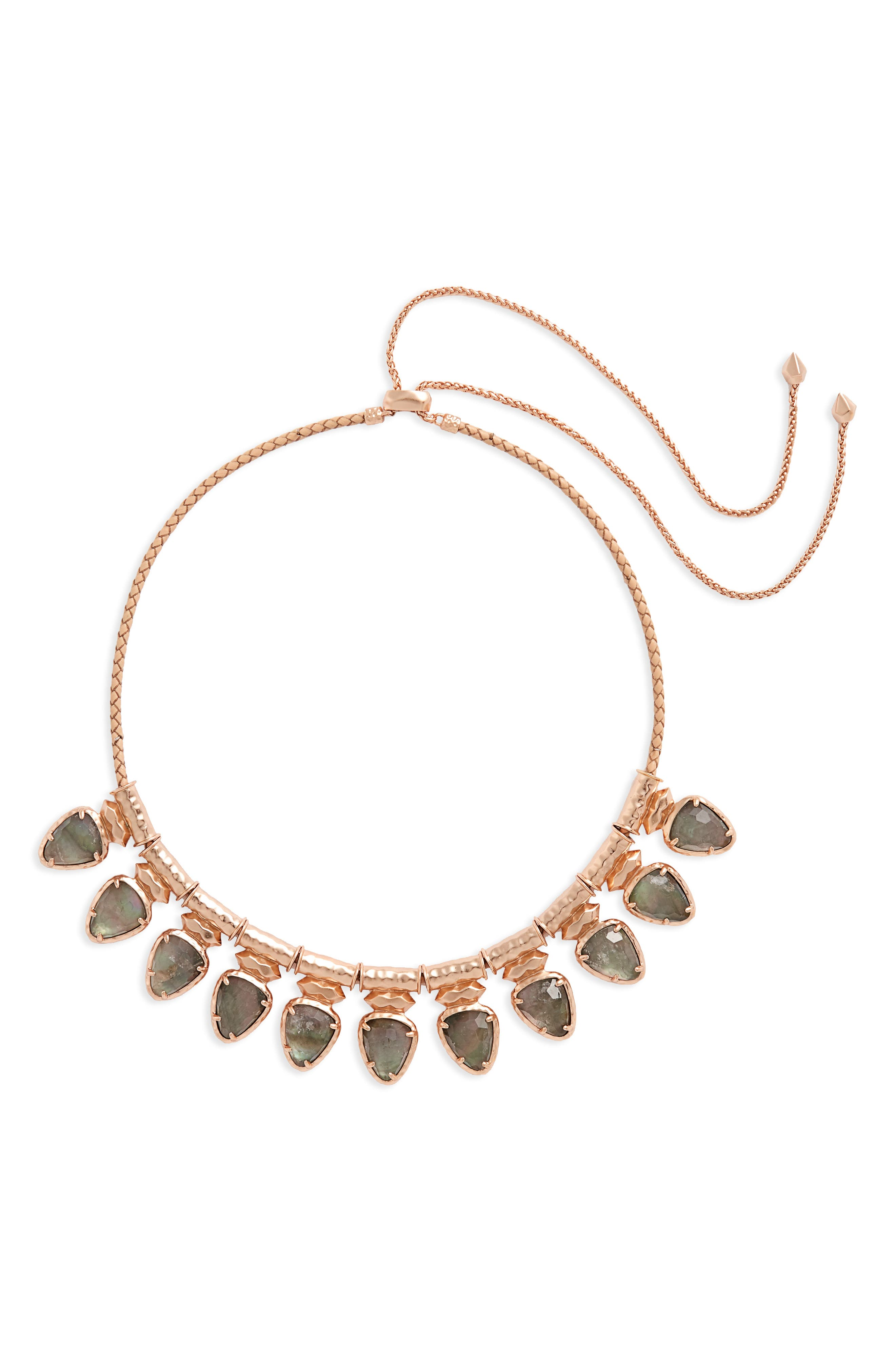 Willow Frontal Necklace,                             Main thumbnail 1, color,                             650