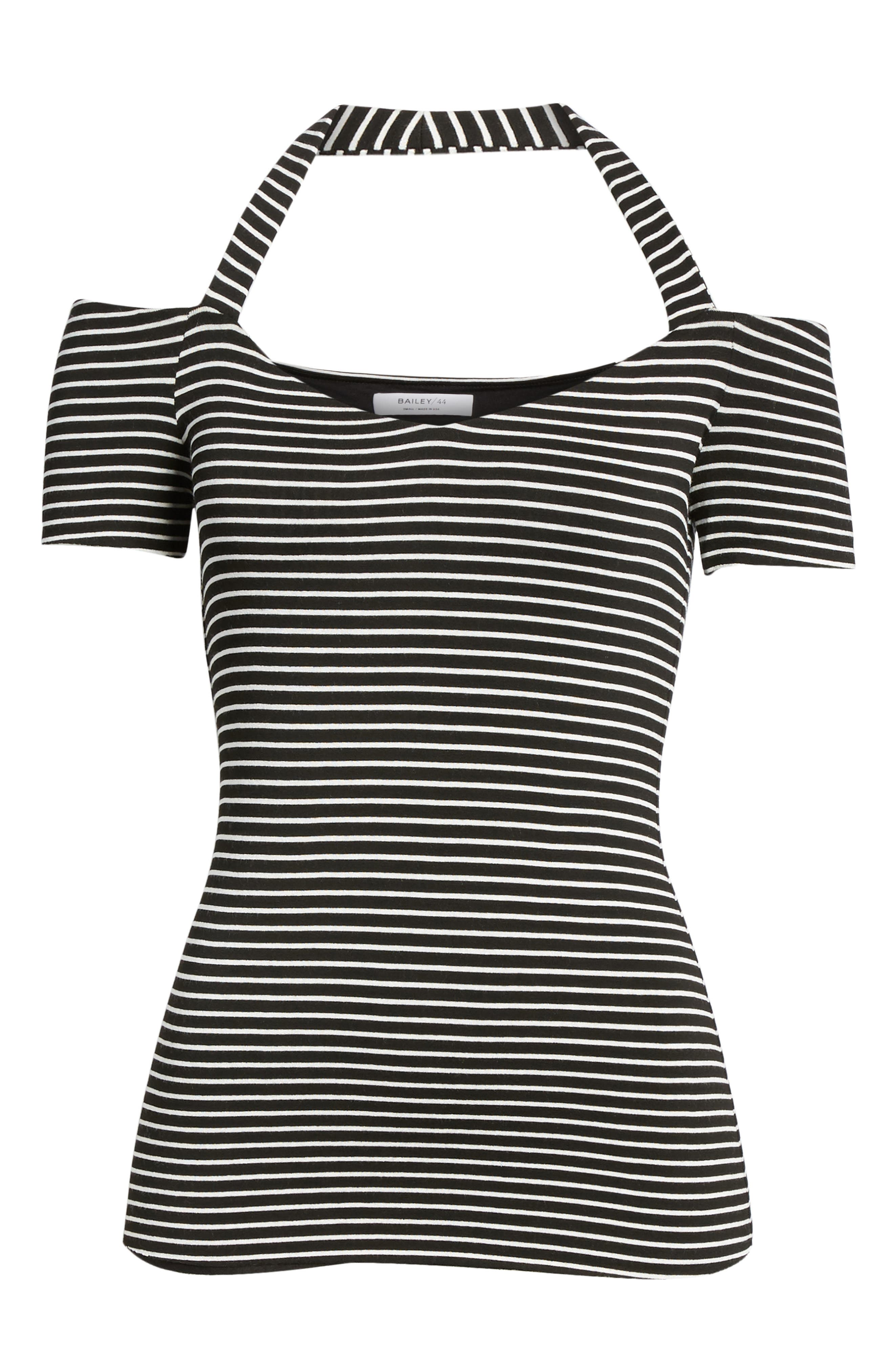 Kiss & Tell Cold Shoulder Top,                             Alternate thumbnail 6, color,