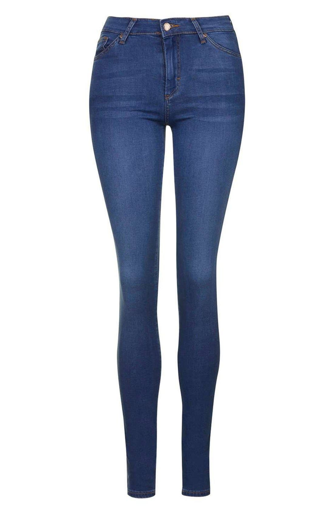 'Leigh' Ankle Skinny Jeans,                             Alternate thumbnail 3, color,                             400