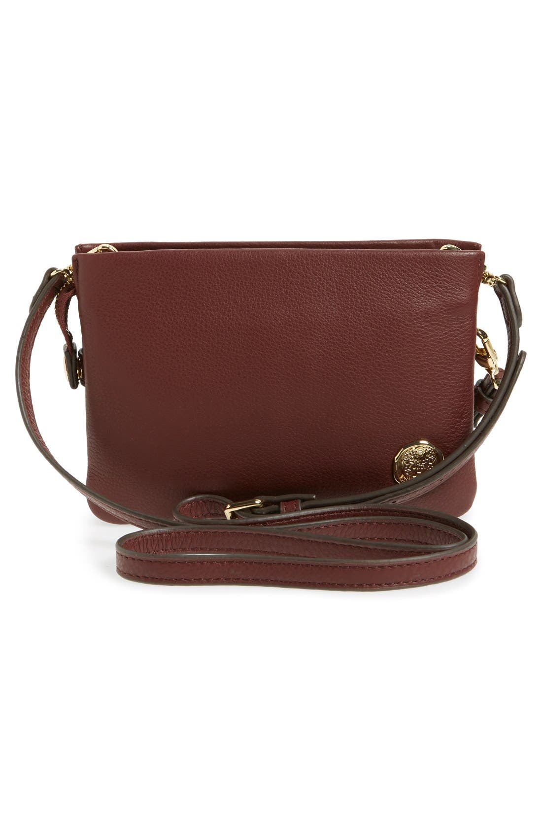 'Cami' Leather Crossbody Bag,                             Alternate thumbnail 101, color,