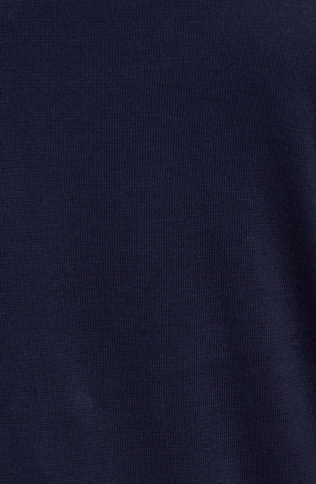 Cotton Jersey V-Neck Sweater,                             Alternate thumbnail 29, color,