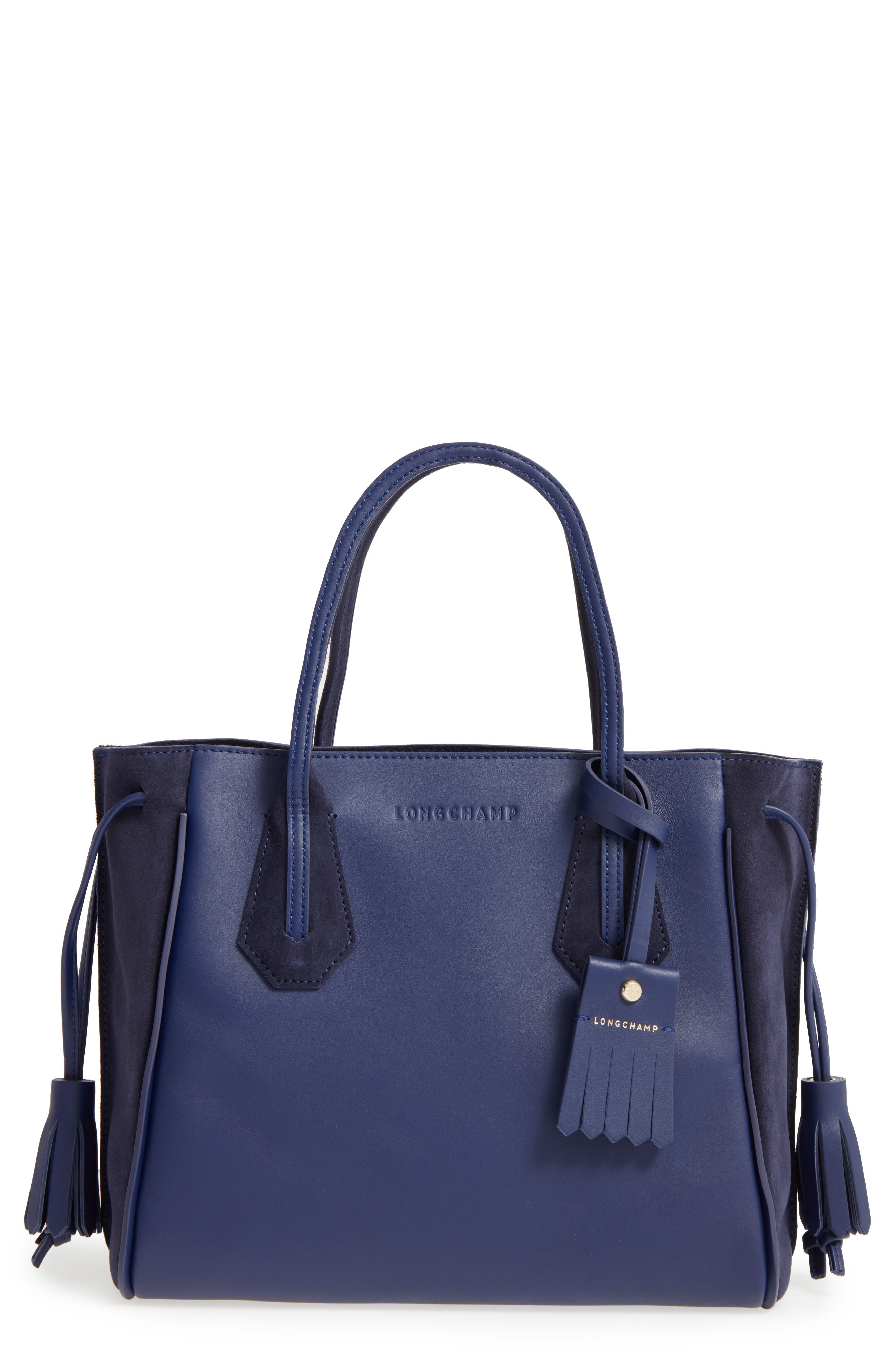 'Small Penelope Fantasie' Leather Tote,                             Main thumbnail 1, color,                             400